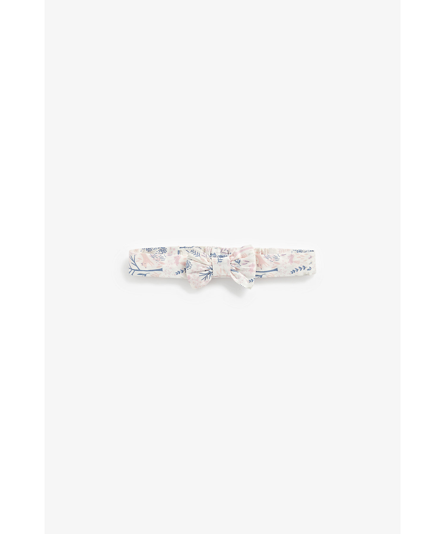 Mothercare | Girls Headbands Printed Bow Detail - Multicolor