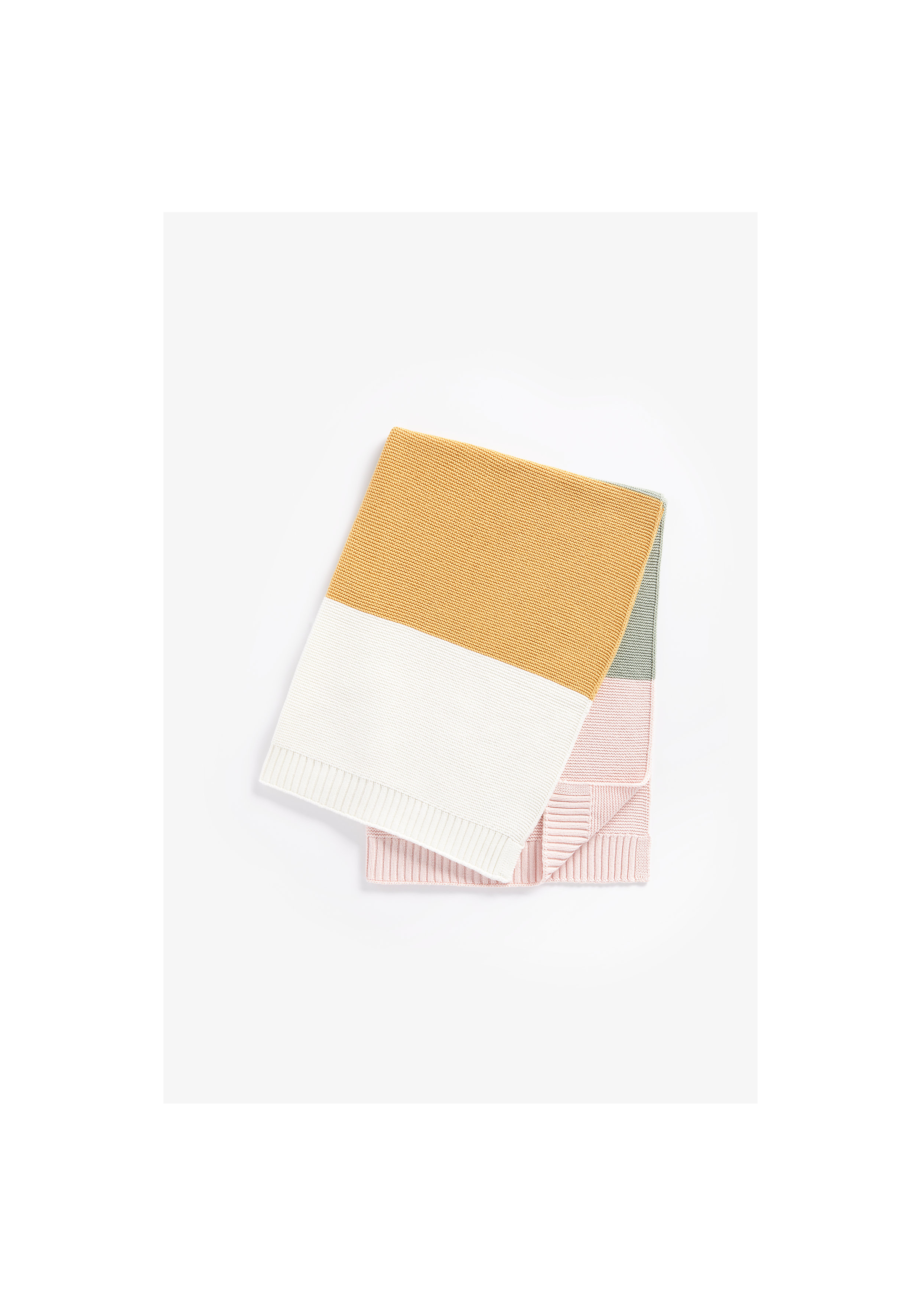 Mothercare | Girls Shawl Color Blocked - Multicolor