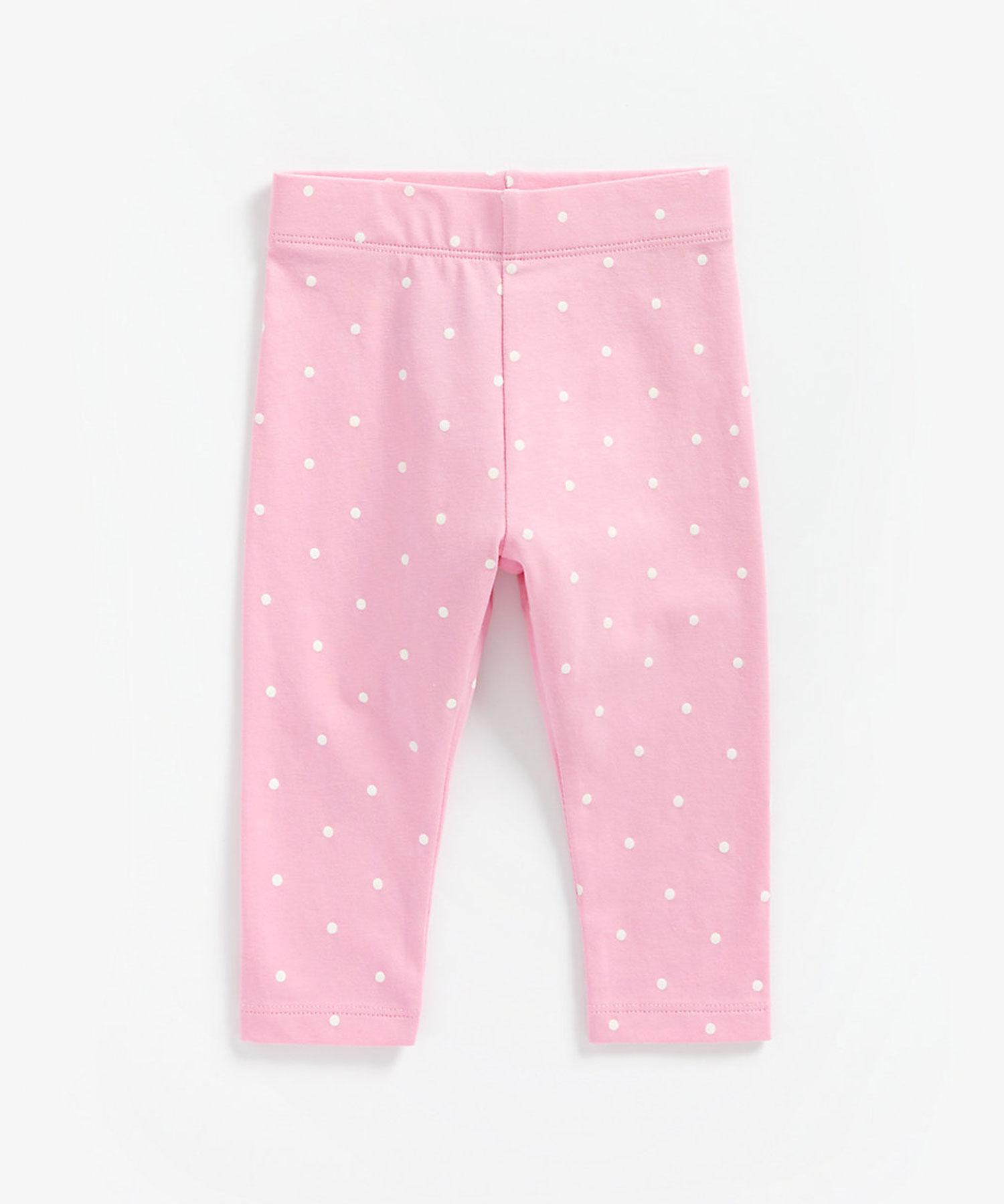 Mothercare | Girls Leggings Polka Dot Print - Pink