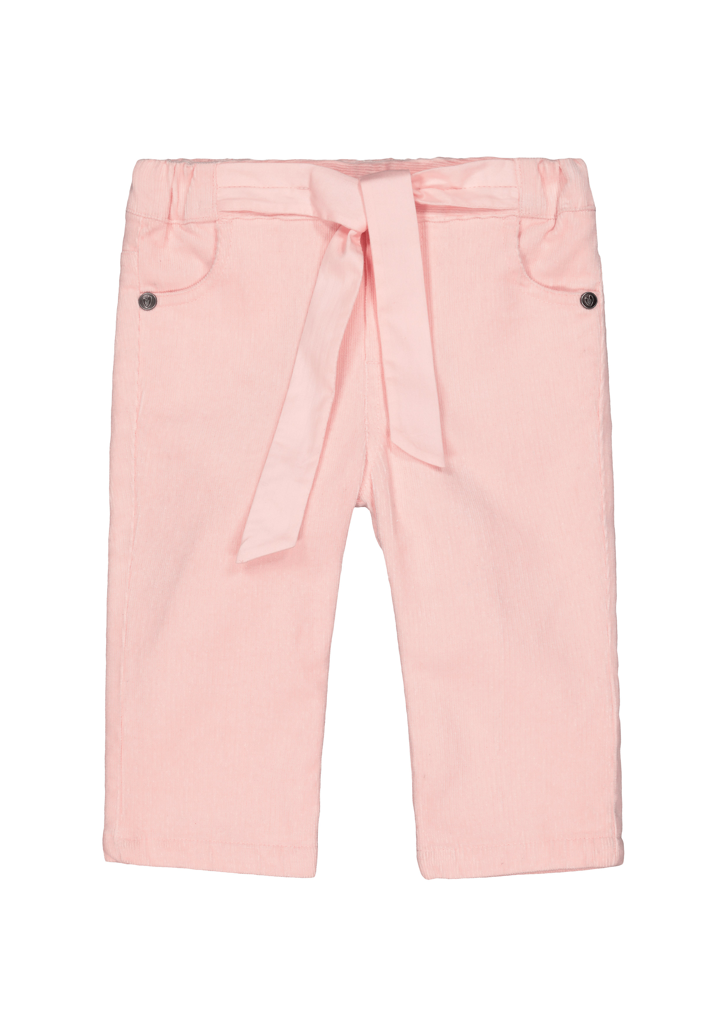 Mothercare   Girls Cord Trousers With Belt - Pink