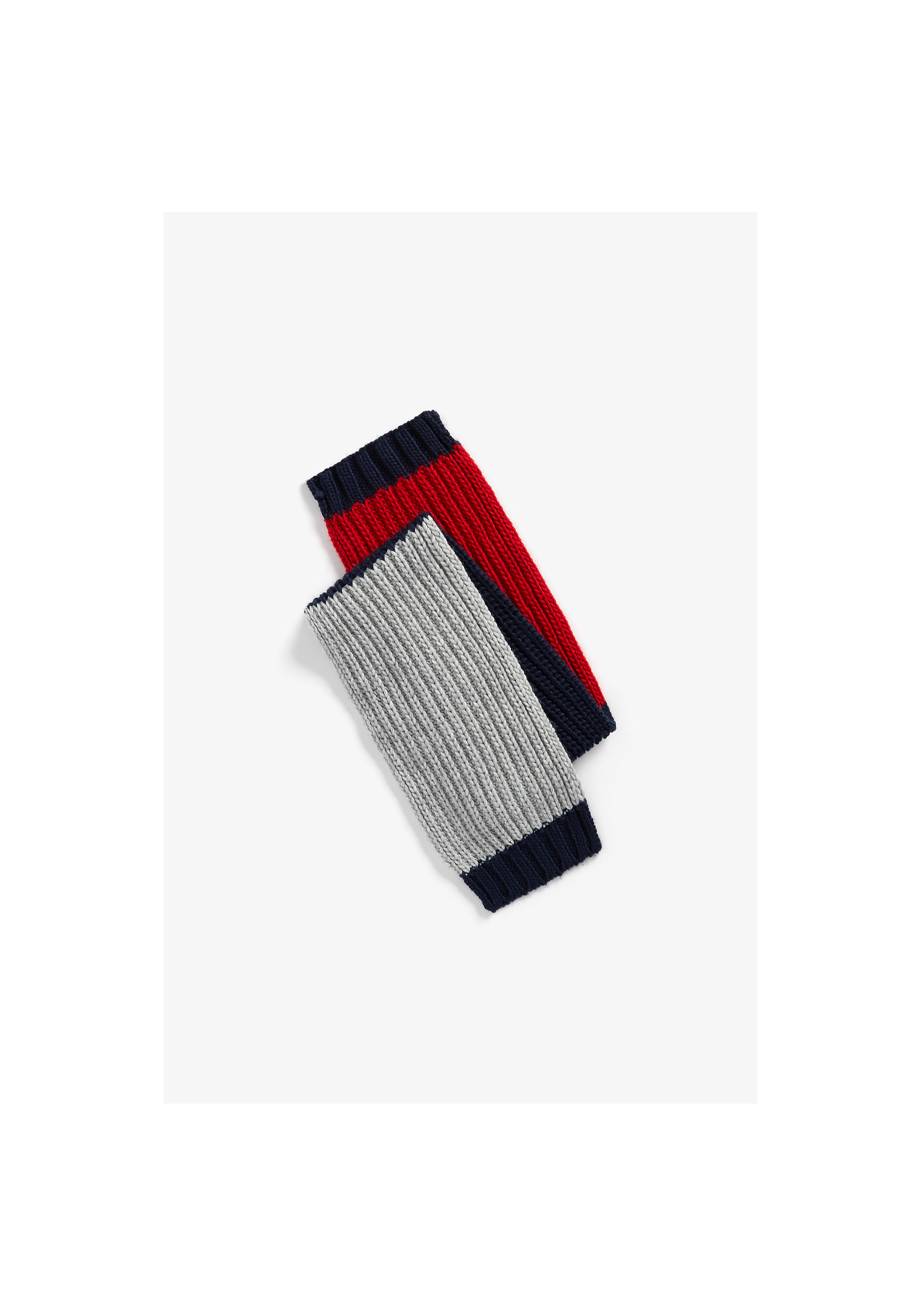 Mothercare | Boys Cable Knit Scarf Striped - Multicolor