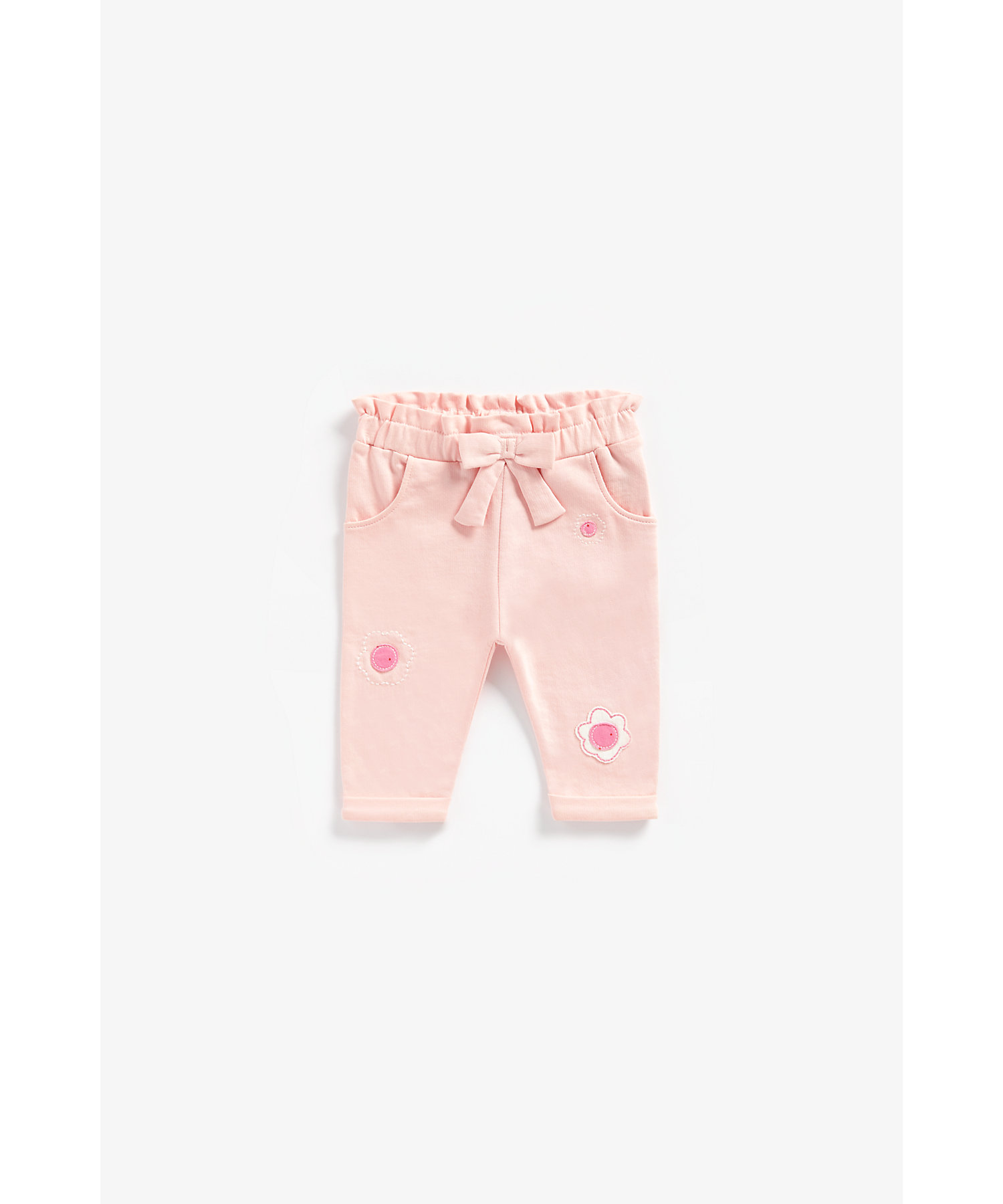 Mothercare | Girls Trouser Flower Patchwork - Pink