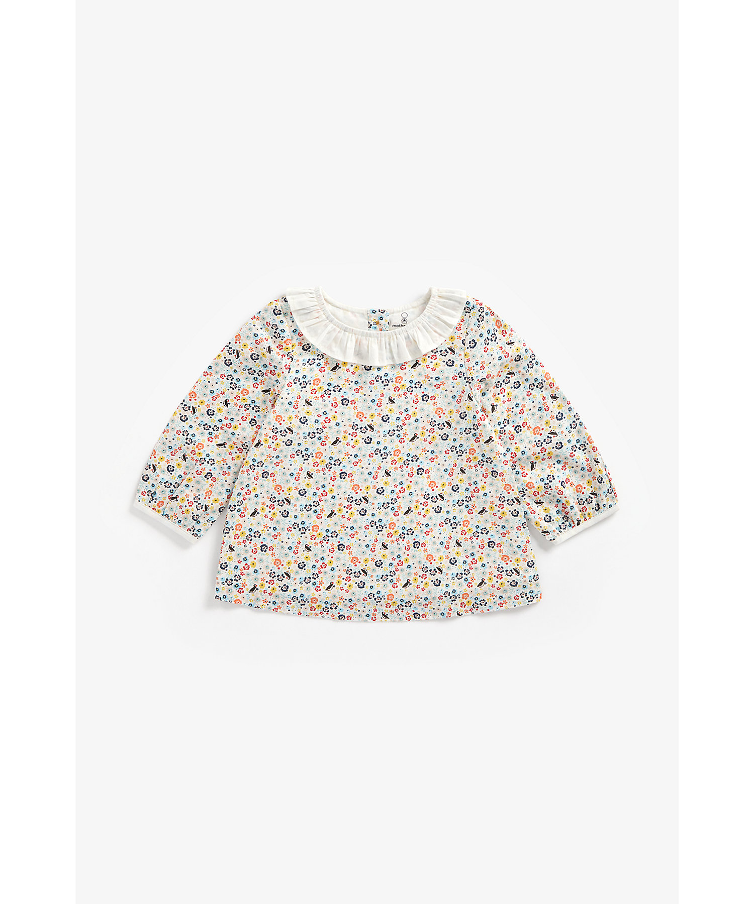 Mothercare | Girls Full Sleeves Top Floral Print - Multicolor