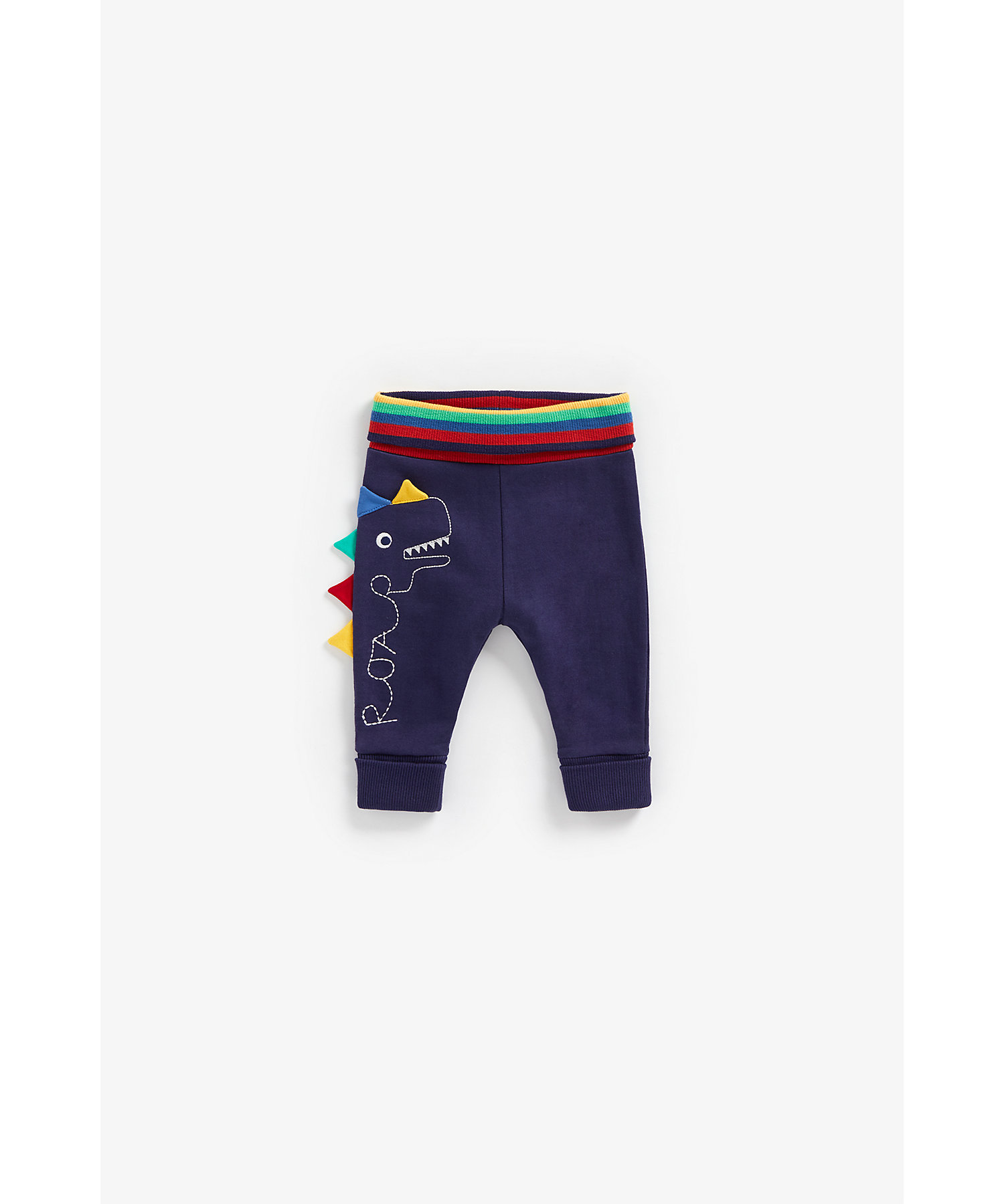 Mothercare | Boys Joggers 3D Dino Spikes - Navy