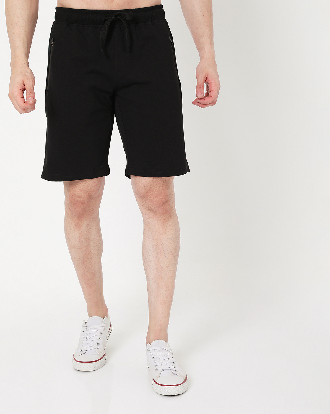 GAS   Men's Donald Tape In Slim Fit Shorts