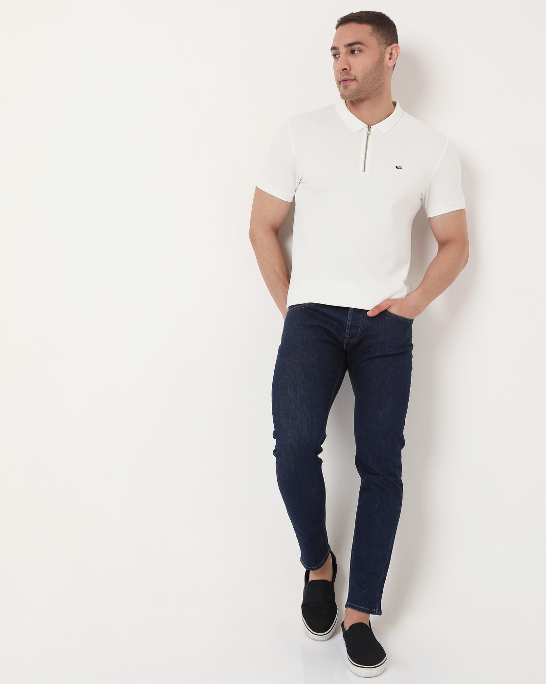 GAS | Men's Zack Ec In Slim Fit Striped Polo