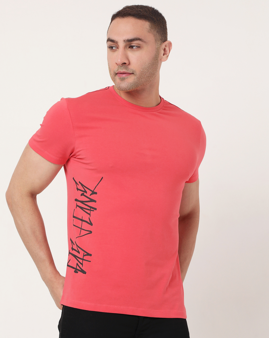 GAS | Men's Scuba Scrib Ec In Slim Fit Printed Tshirt