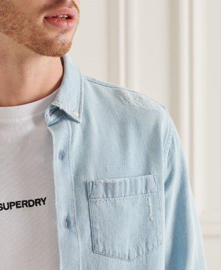 Superdry   Classic Denim Bd Shirt