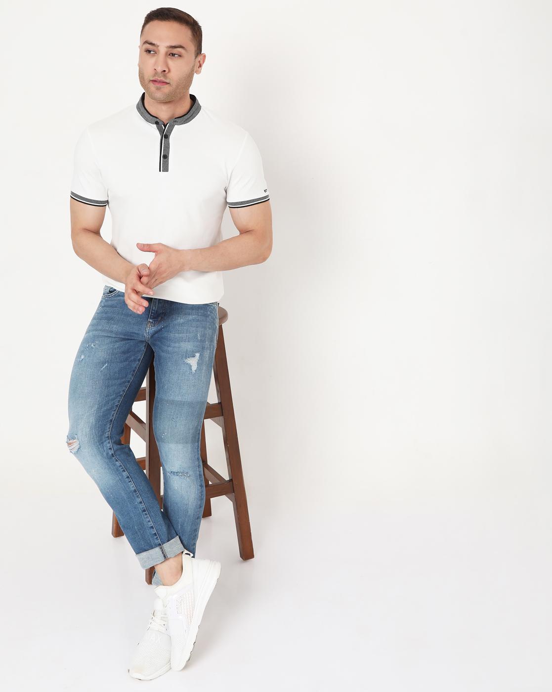 GAS | Men's Luke Solid In Slim Fit Polo