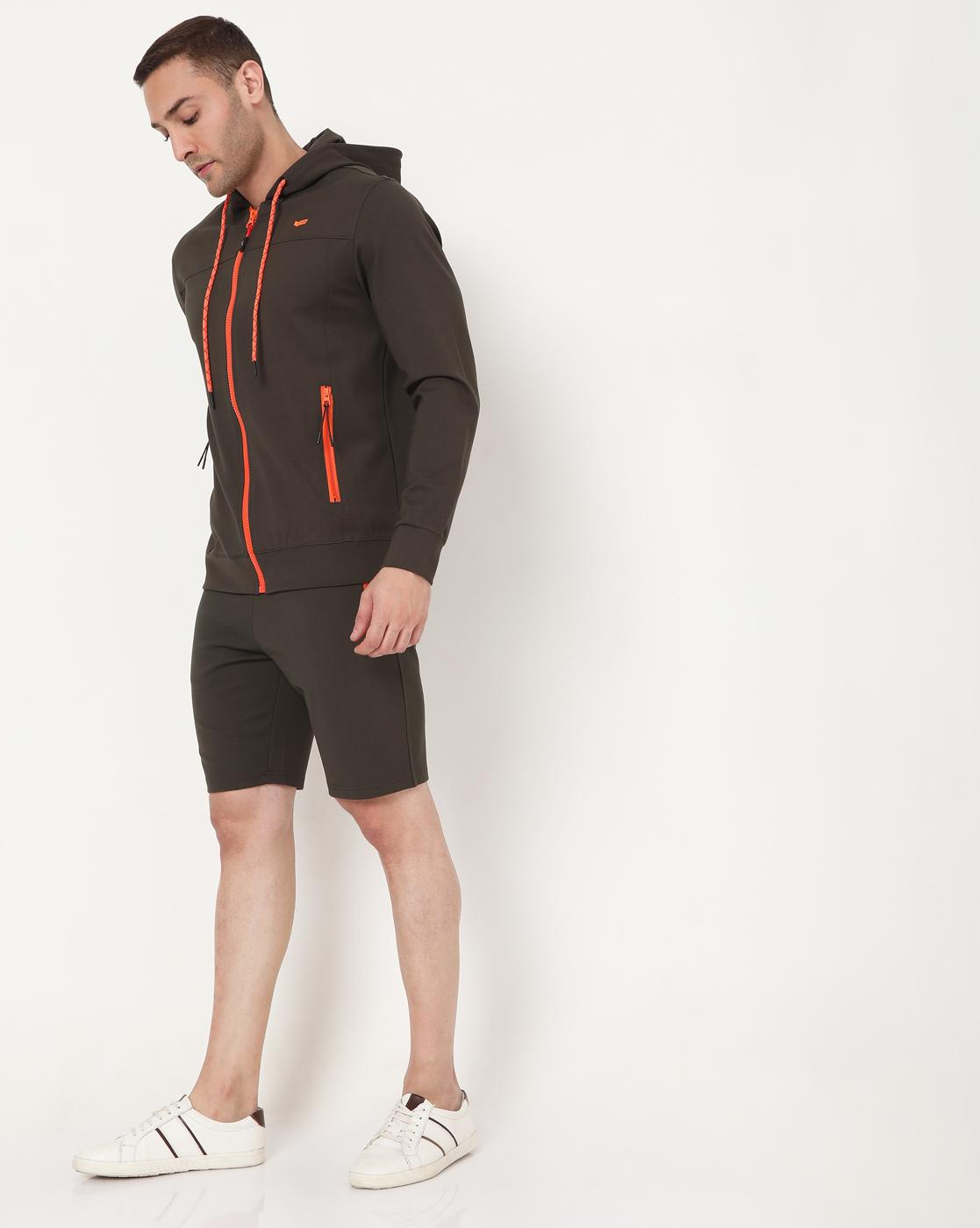 GAS | Men's Scott Fluo In Slim Fit Shorts