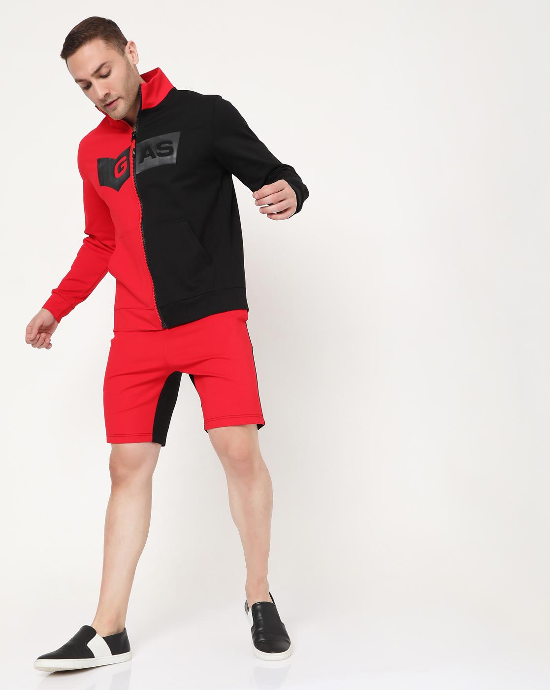 GAS | Men's Zippo Half In Slim Fit Sweatshirt