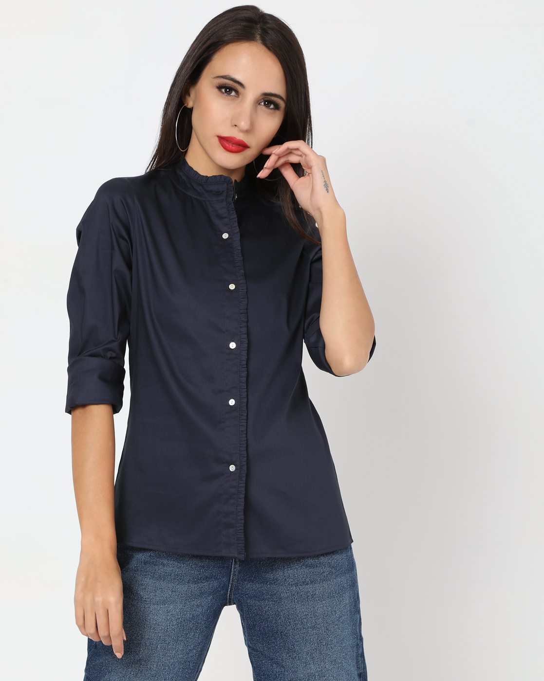 GAS | Women's Amelia In Straight Fit Shirt