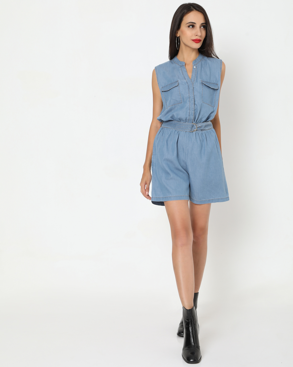 GAS | Women's Ruby In Straight Fit Jumpsuit