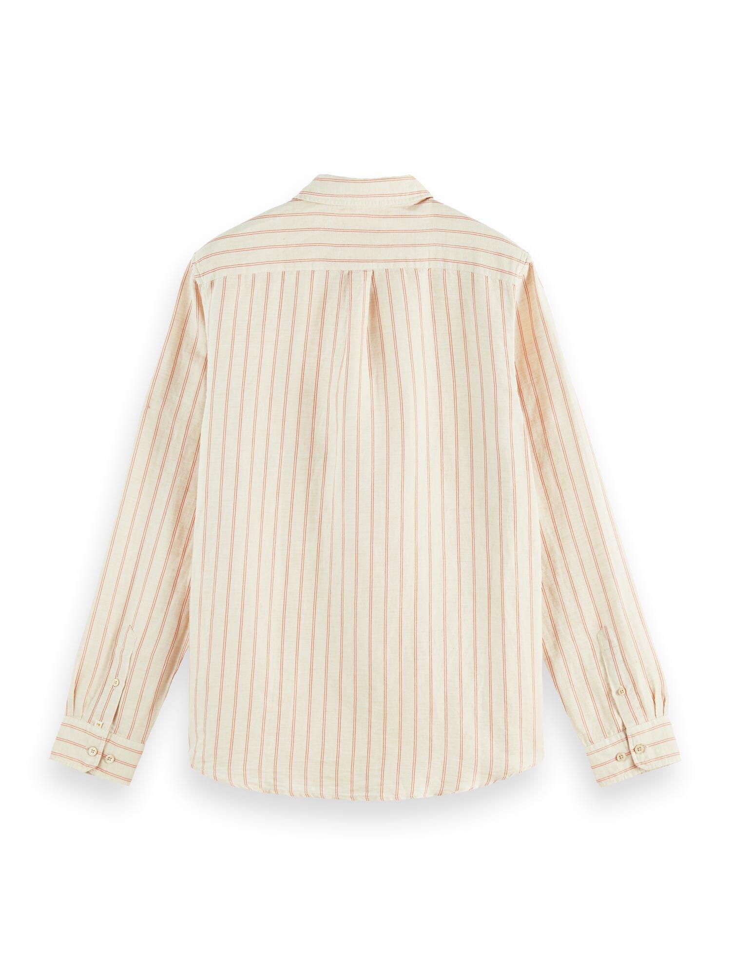 Scotch & Soda | REGULAR FIT- Striped shirt with organic cotton blend