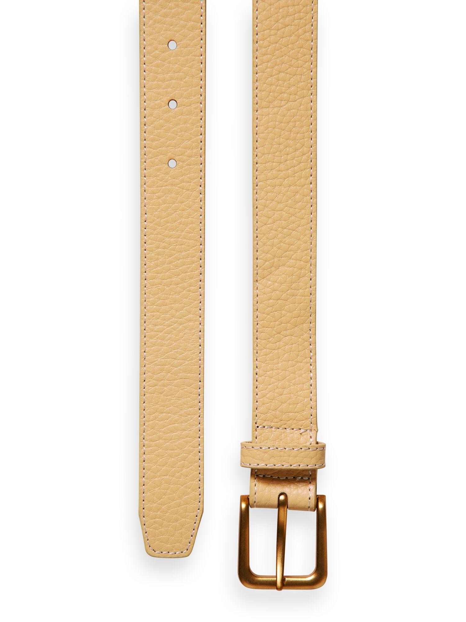Scotch & Soda   Classic  leather belt