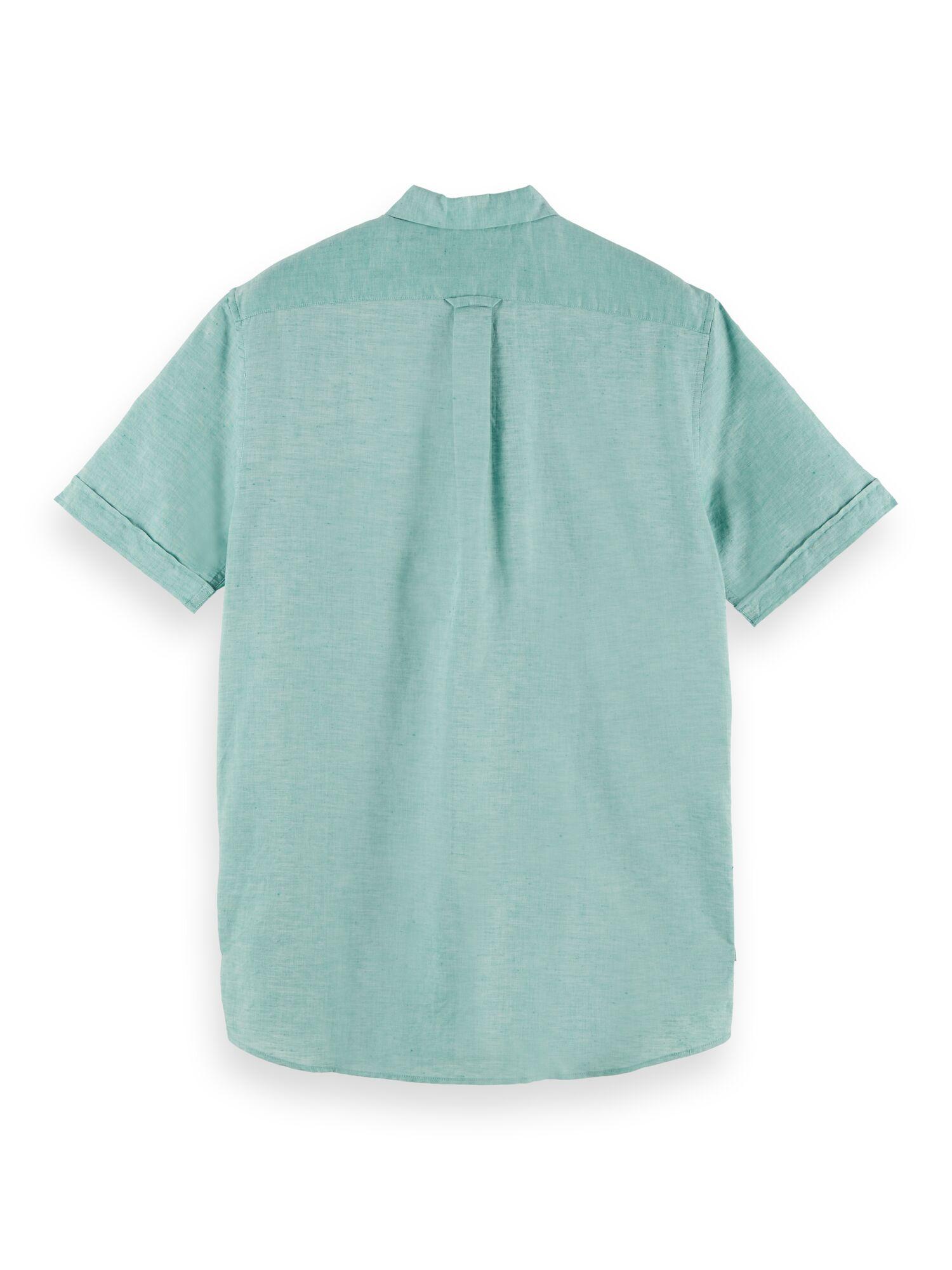 Scotch & Soda   Organic cotton blend short sleeve polo shirt