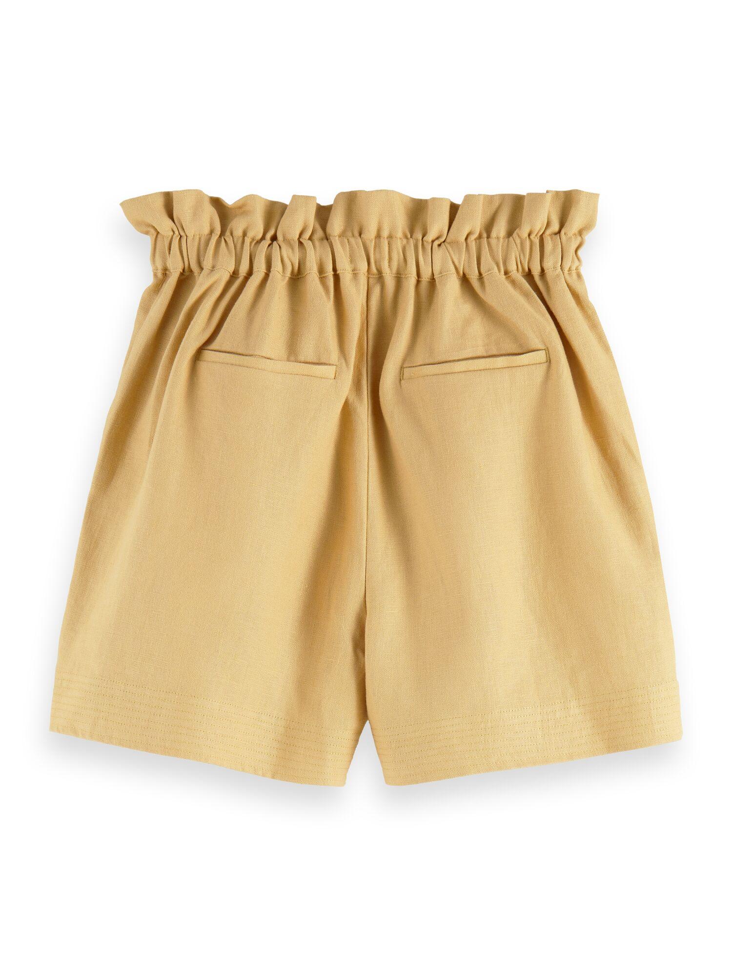 Scotch & Soda | Linen shorts with elasticated waist