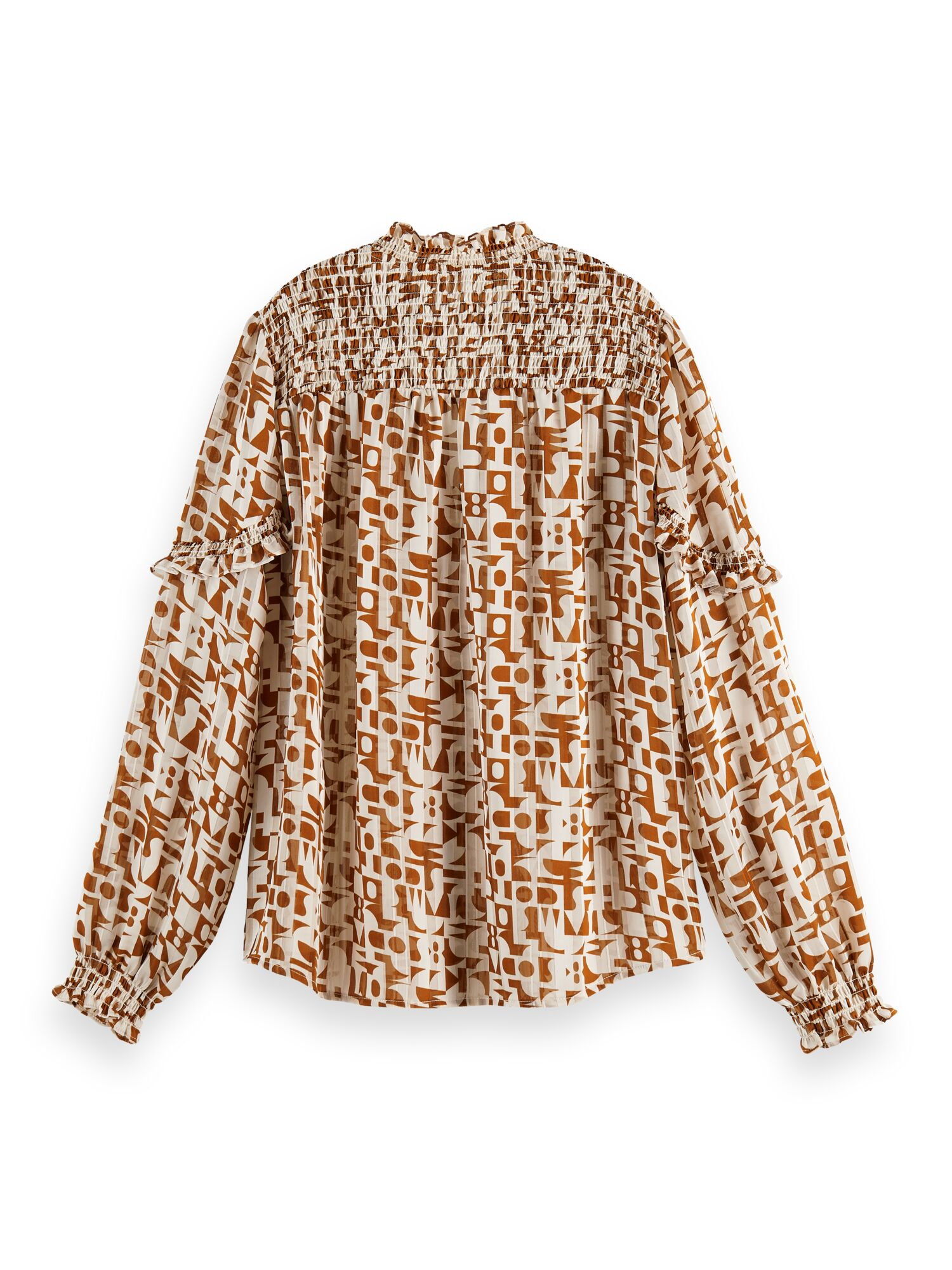 Scotch & Soda | Sheer shirt with all over print