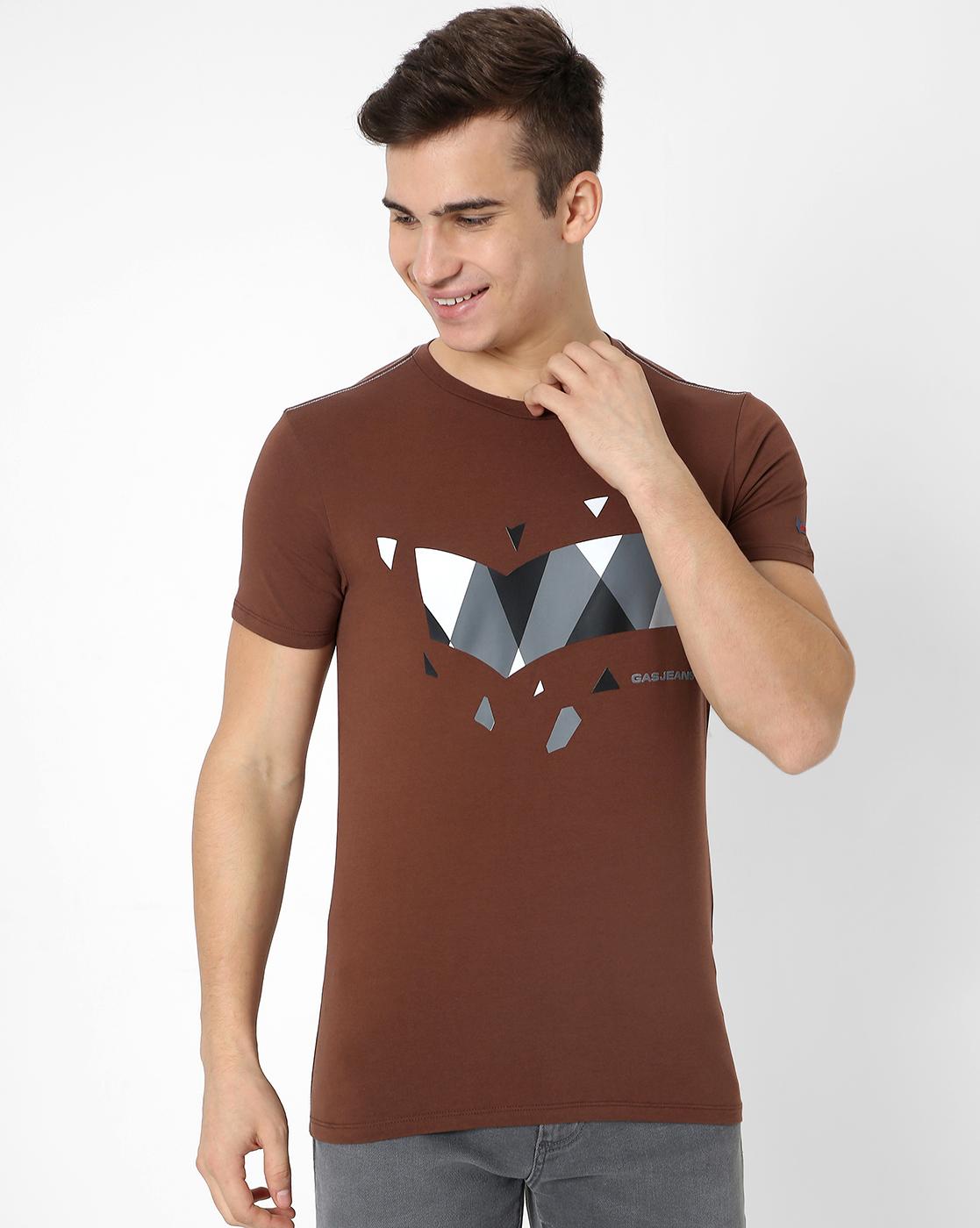 GAS   Men'S Scuba Piece In Slim T-Shirt