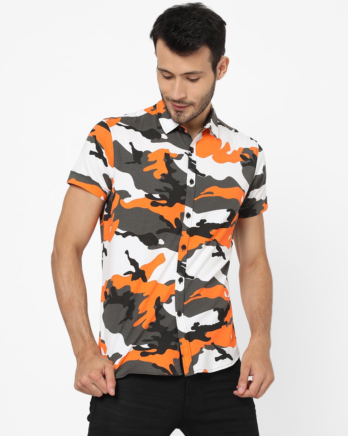 GAS | Men's Knit Shirt In Slim Shirt