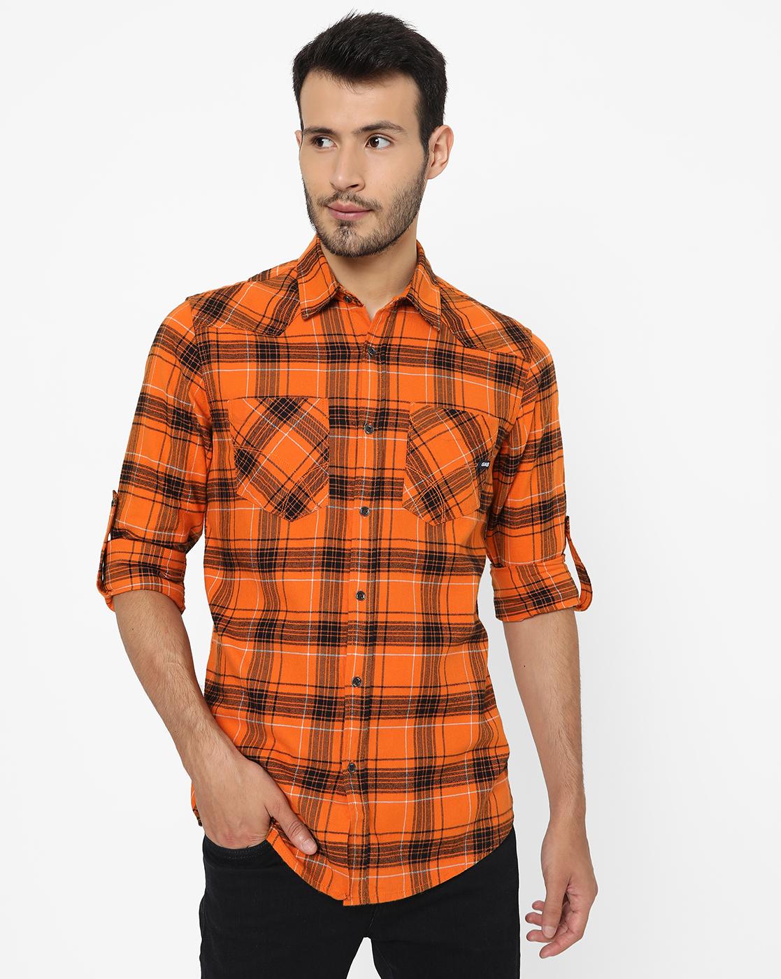 GAS | Men's Sir Det In  Slim Shirt