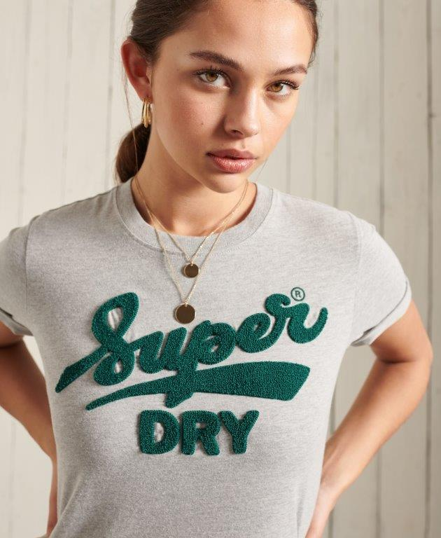 Superdry   COLLEGE CHENILLE TEE 190320