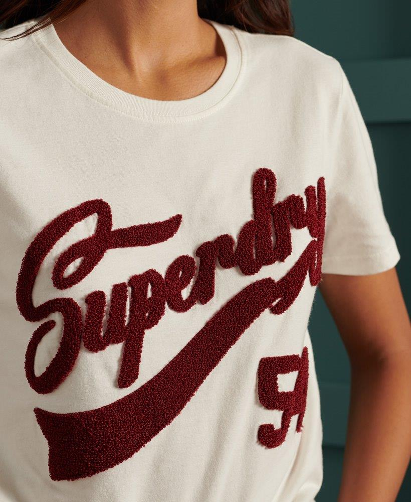 Superdry | COLLEGE CHENILLE TEE 190320