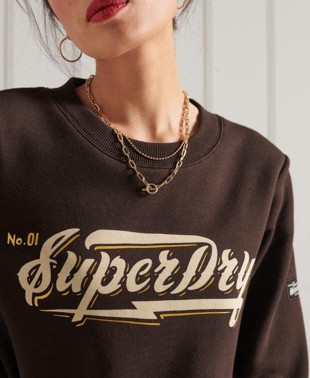 Superdry | GRAPHIC SWEAT DRESS