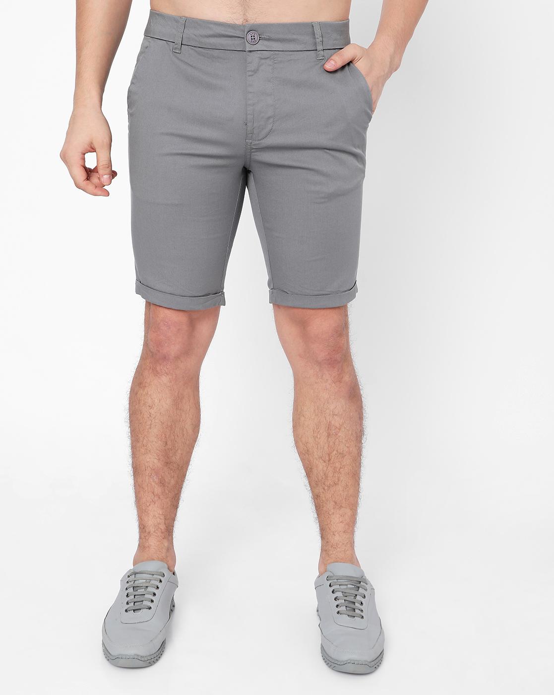 GAS | Men's Scottie Solid Shorts Slim Shorts
