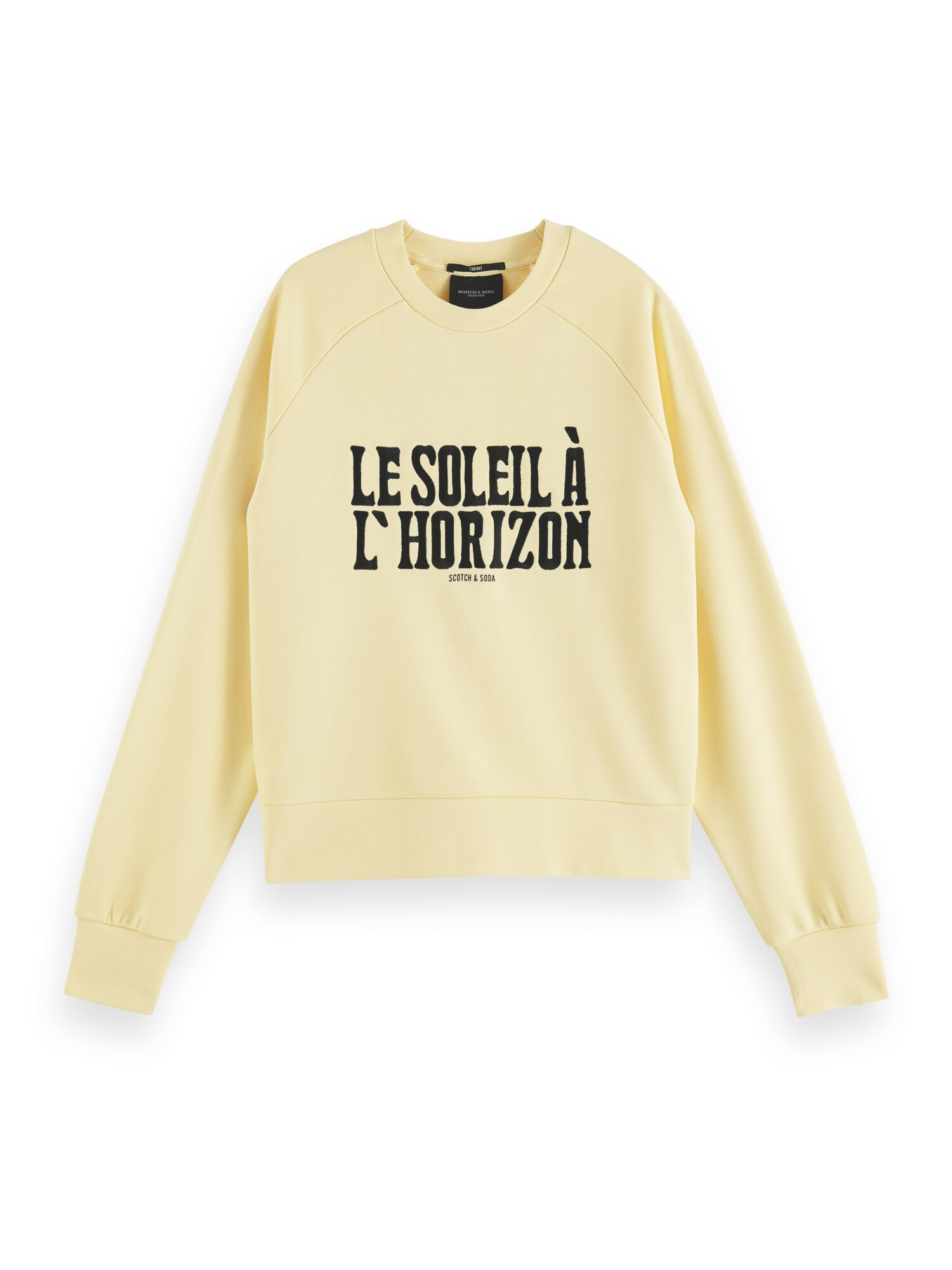 Scotch & Soda | Relaxed fit crew neck sweat in organic cotton blend
