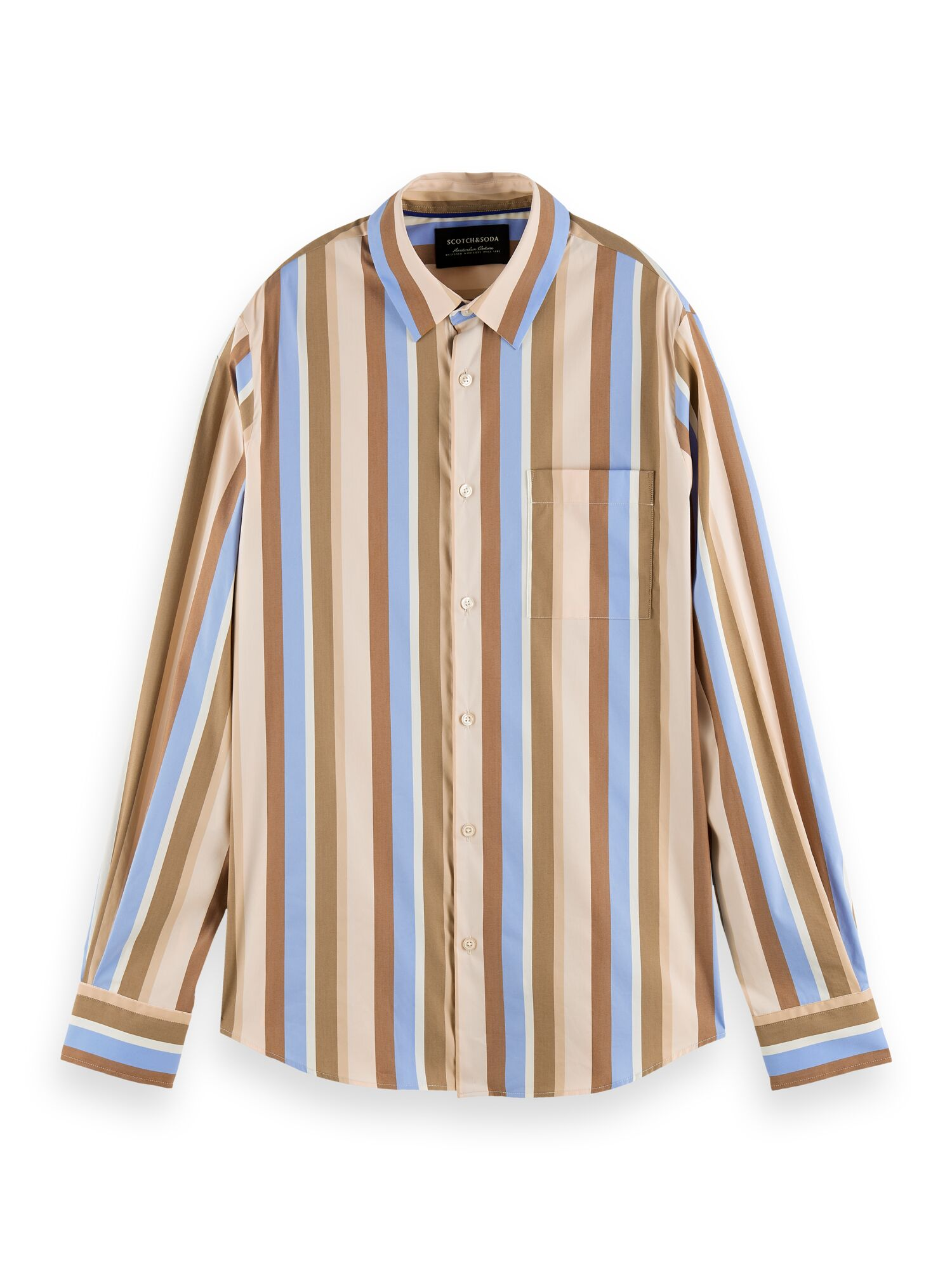 Scotch & Soda | RELAXED FIT- striped shirt