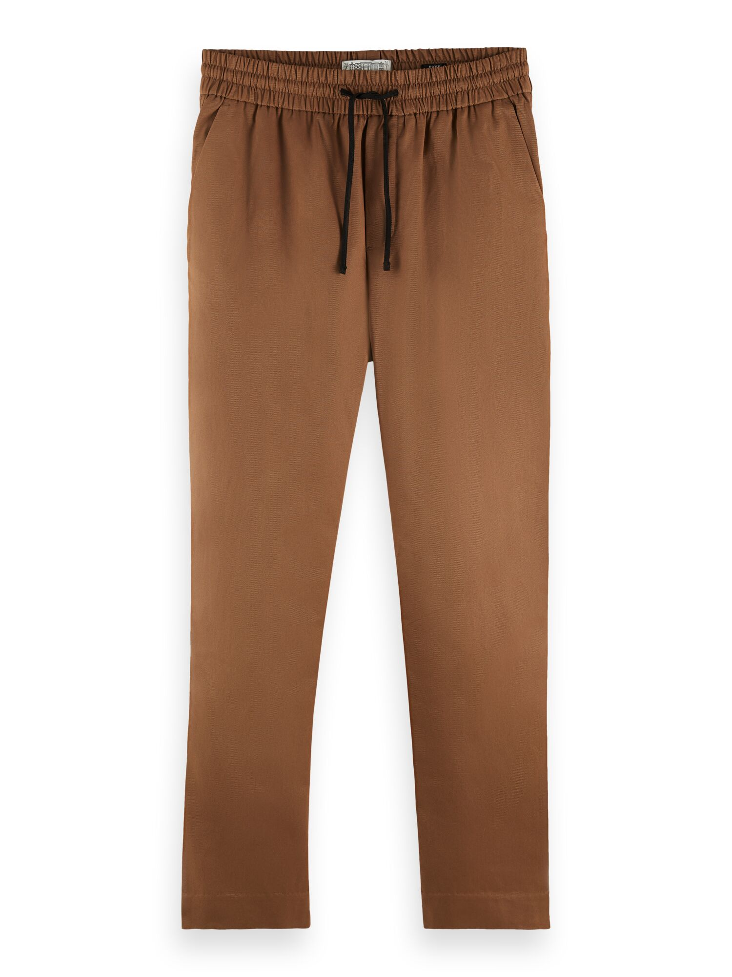 Scotch & Soda | FAVE- Lightweight chino in jogger styling in organic cotton