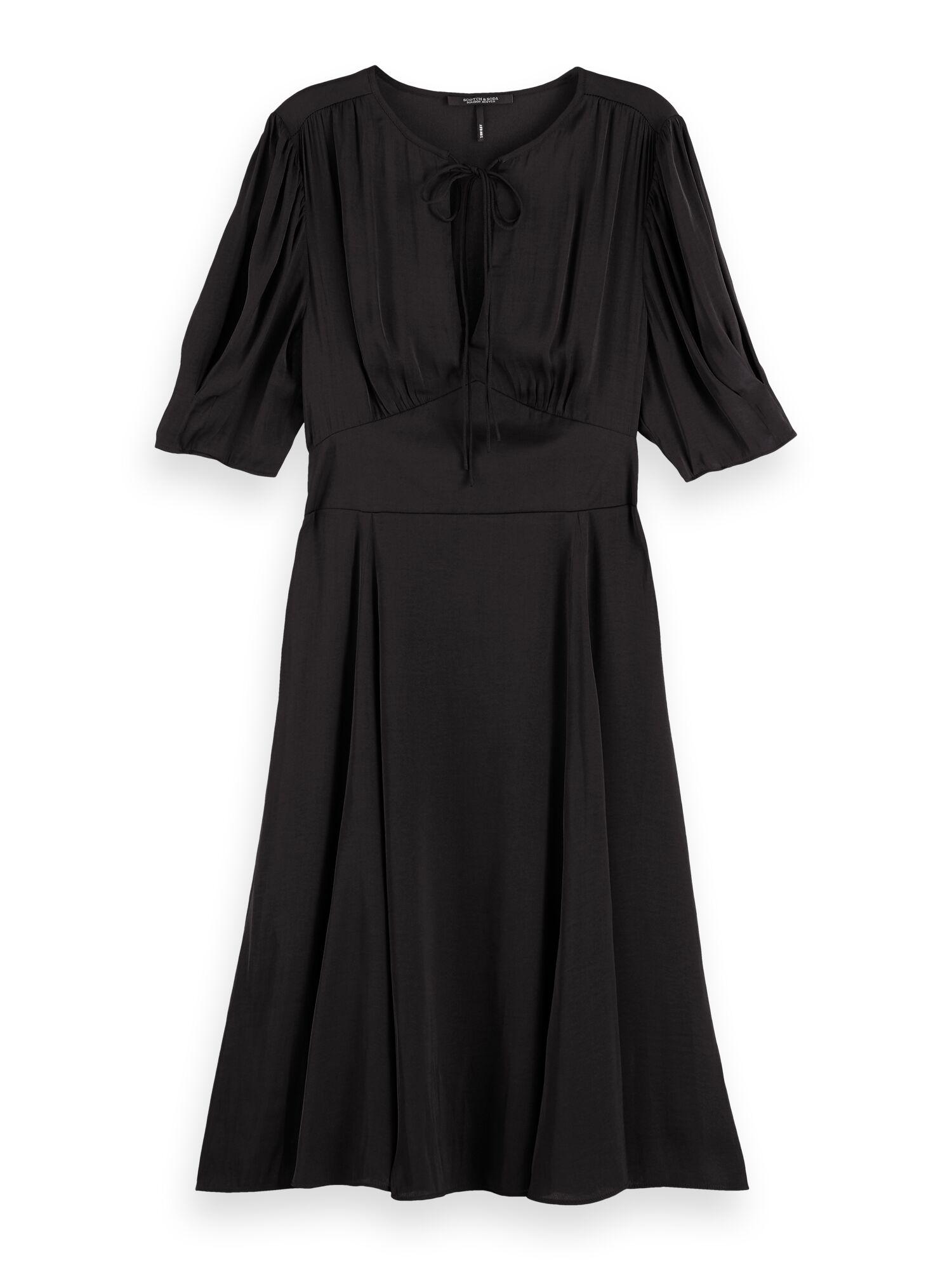Scotch & Soda | Drapey midi length  dress