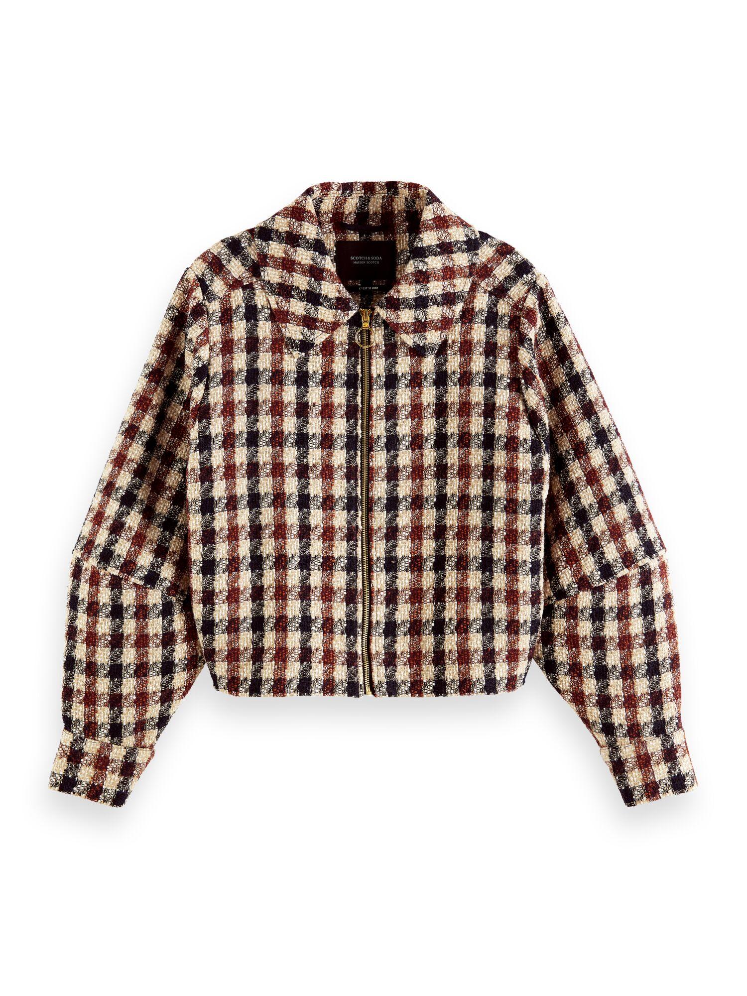 Scotch & Soda   Short tweed jacket