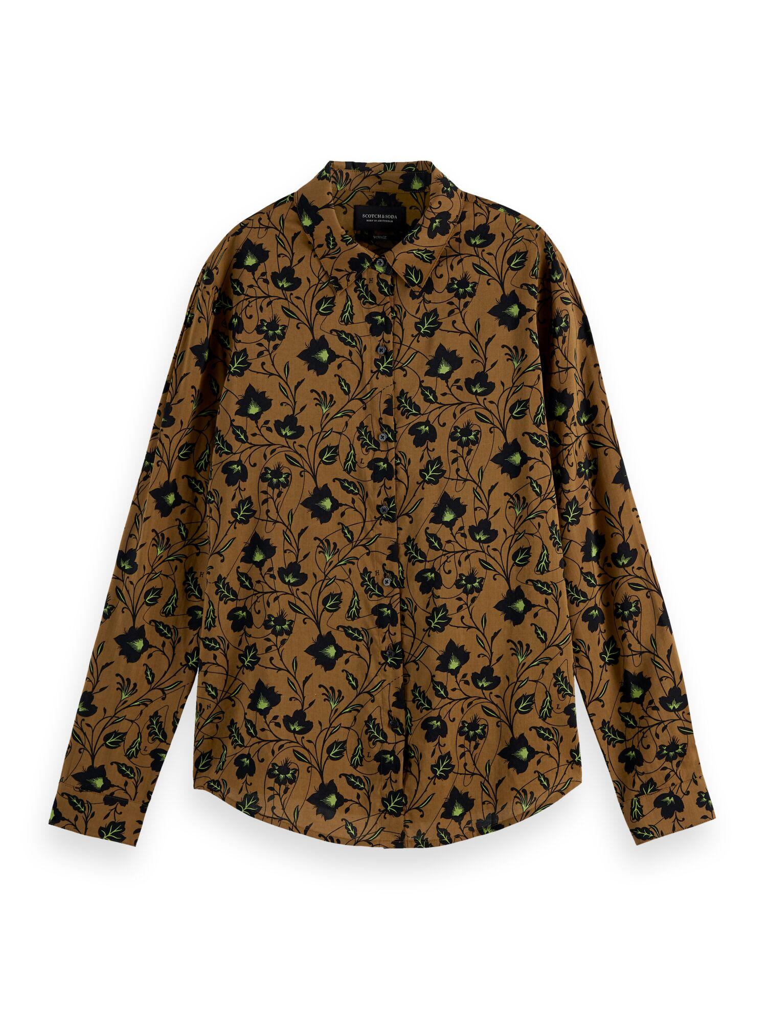 Scotch & Soda   Printed regular fit shirt contains Organic Cotton