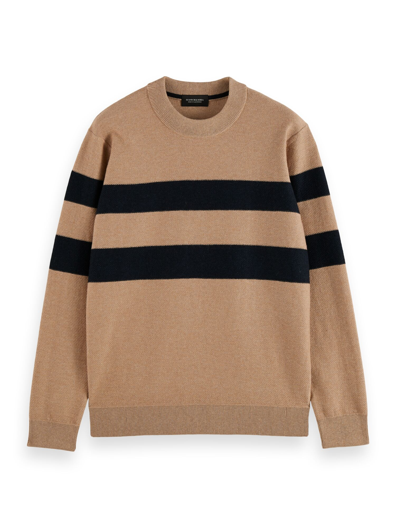 Scotch & Soda | Structure-knitted pullover contains Wool