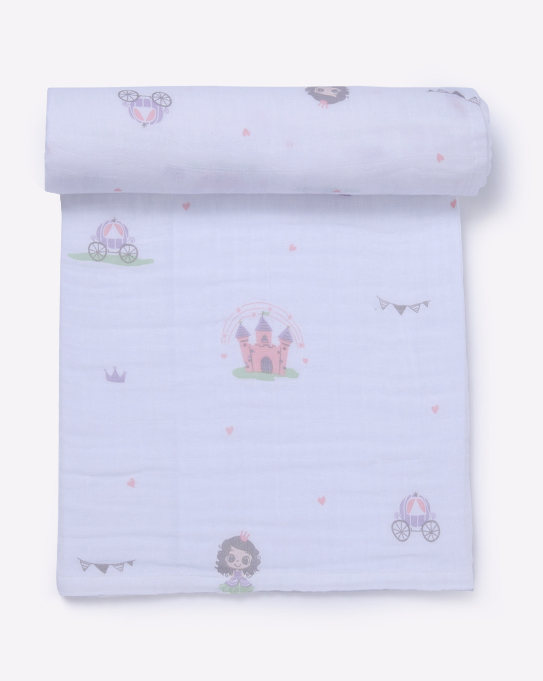 Mothercare | Mila Baby Swaddle Princess Pink