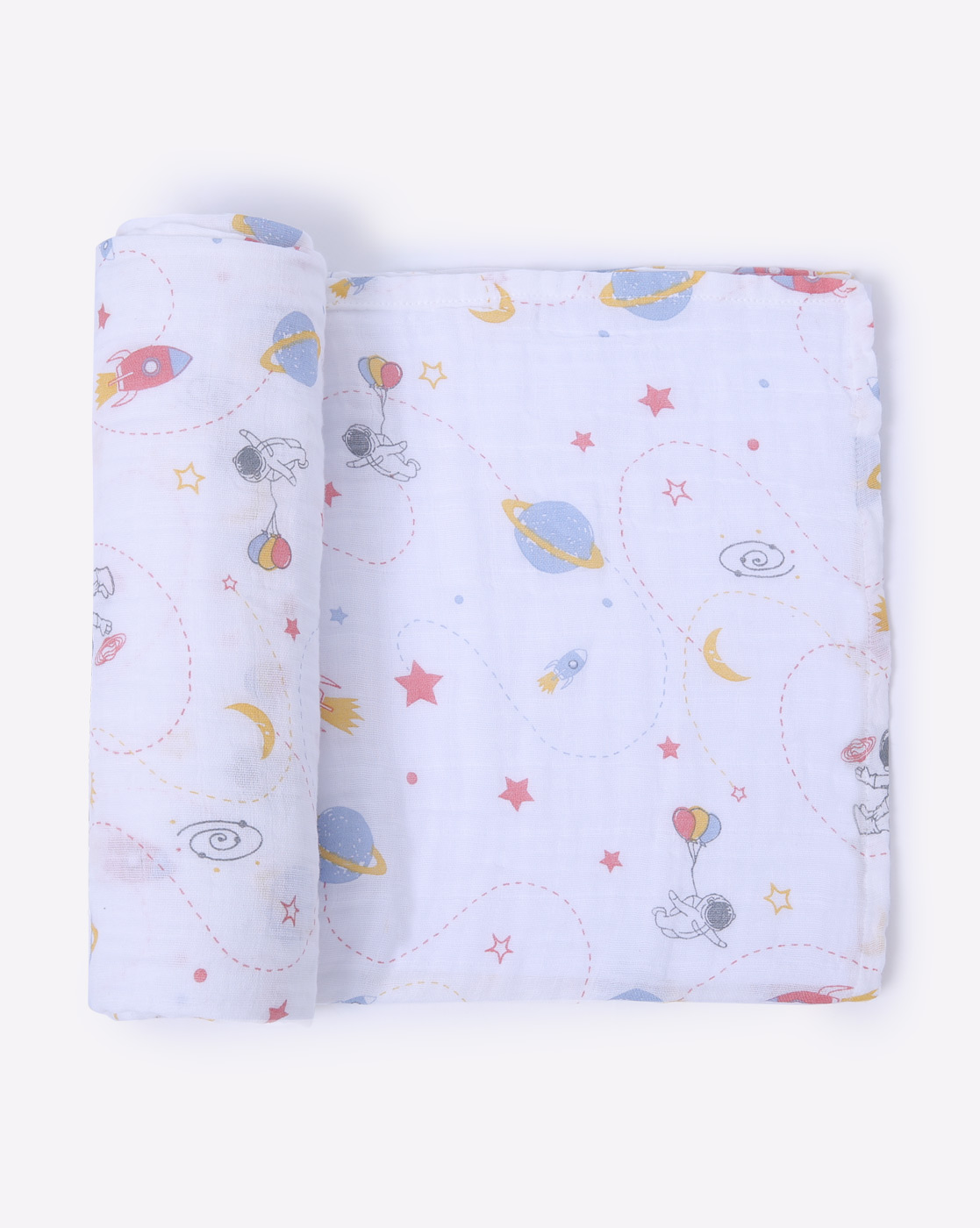 Mothercare | Mila Baby Swaddle Space Blue