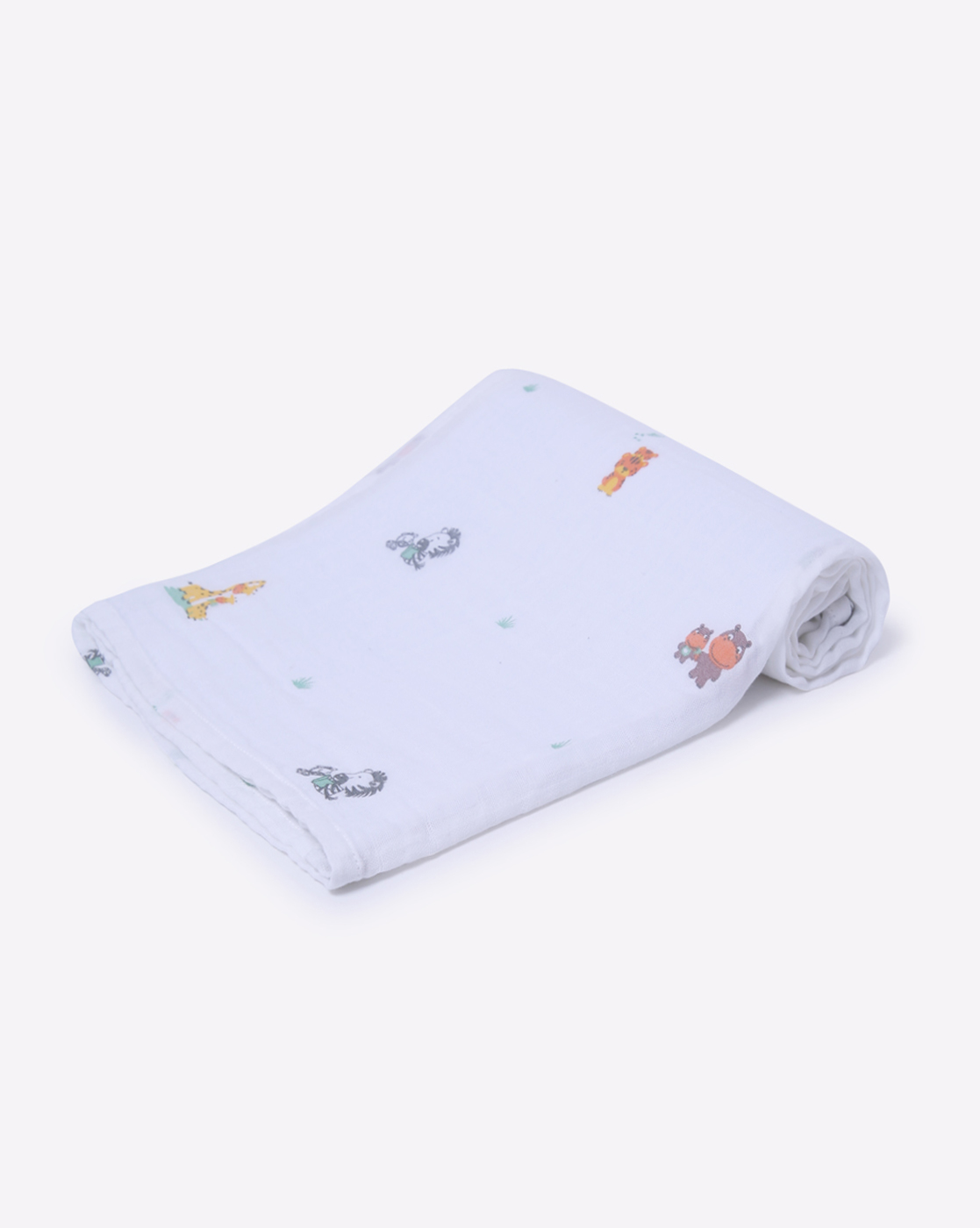 Mothercare | Mila Baby Swaddle Animal families Green