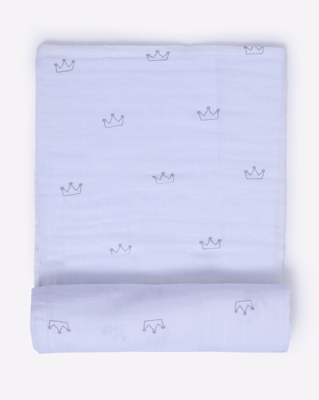 Mothercare | Mila Baby Swaddle Crown Grey