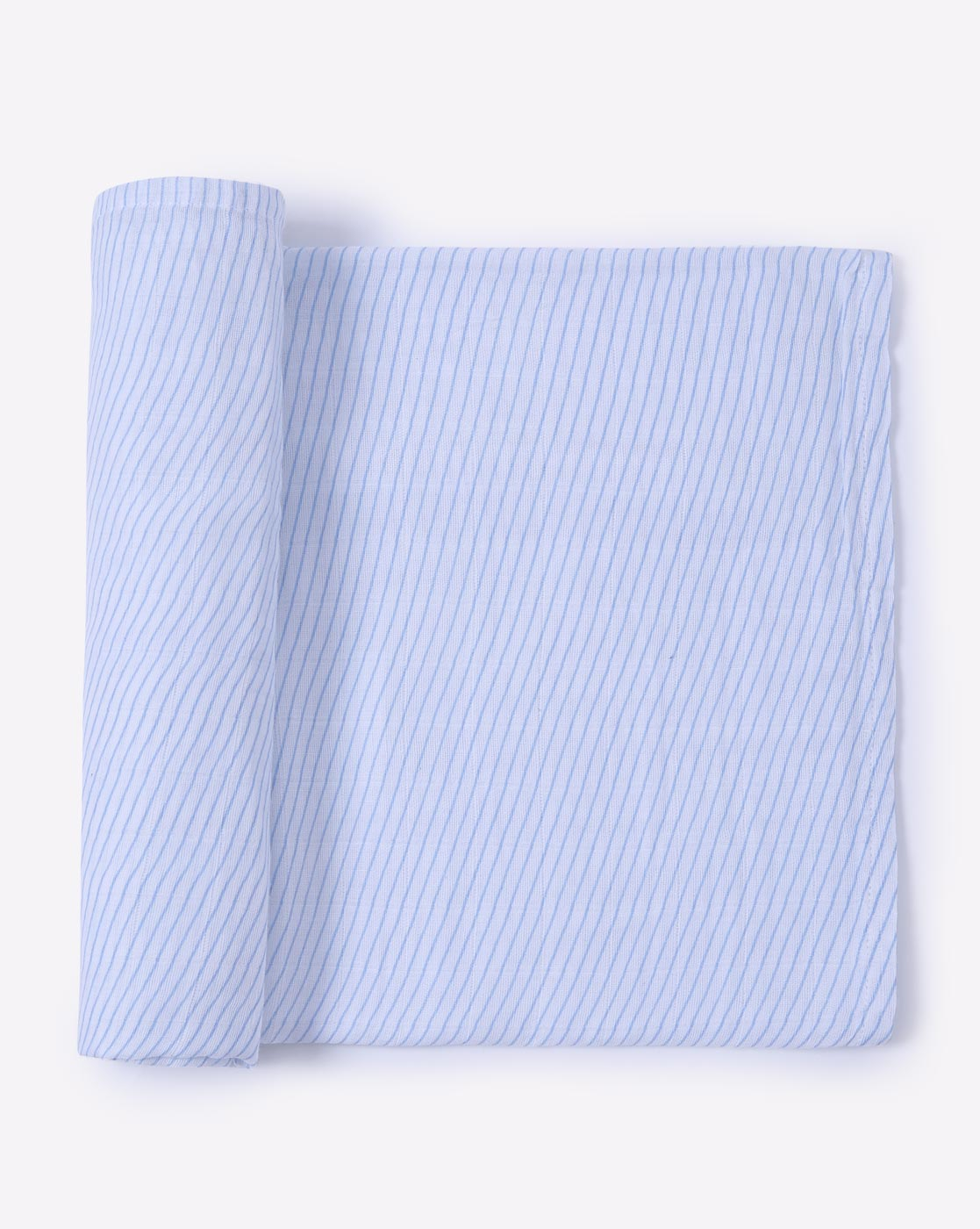 Mothercare | Mila Baby Swaddle Blue Stripes