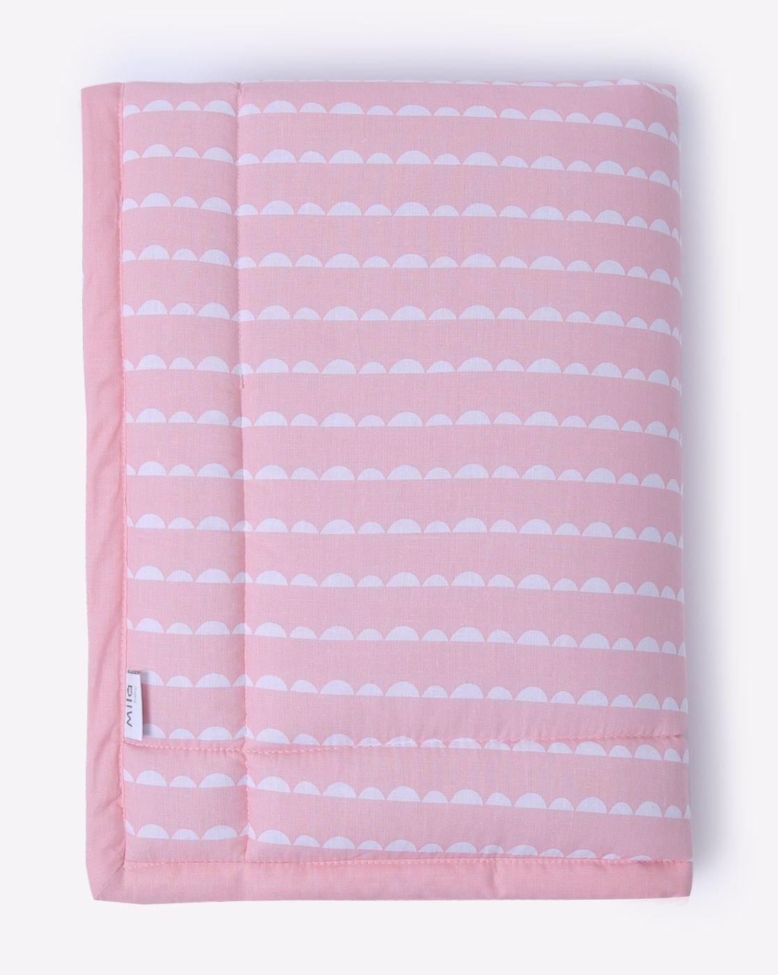 Mothercare | Mila Baby Pink Wave Mattress