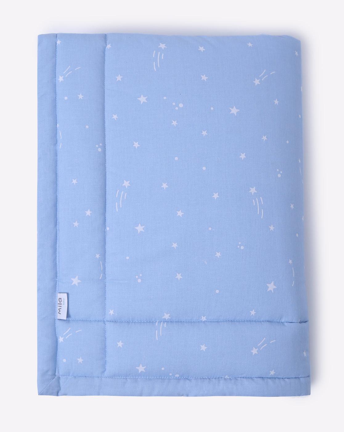 Mothercare | Mila Baby Blue Stars Mattress