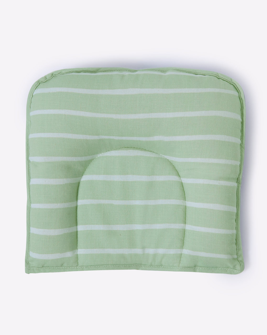 Mothercare | Mila Baby Green Stripes Baby Pillow