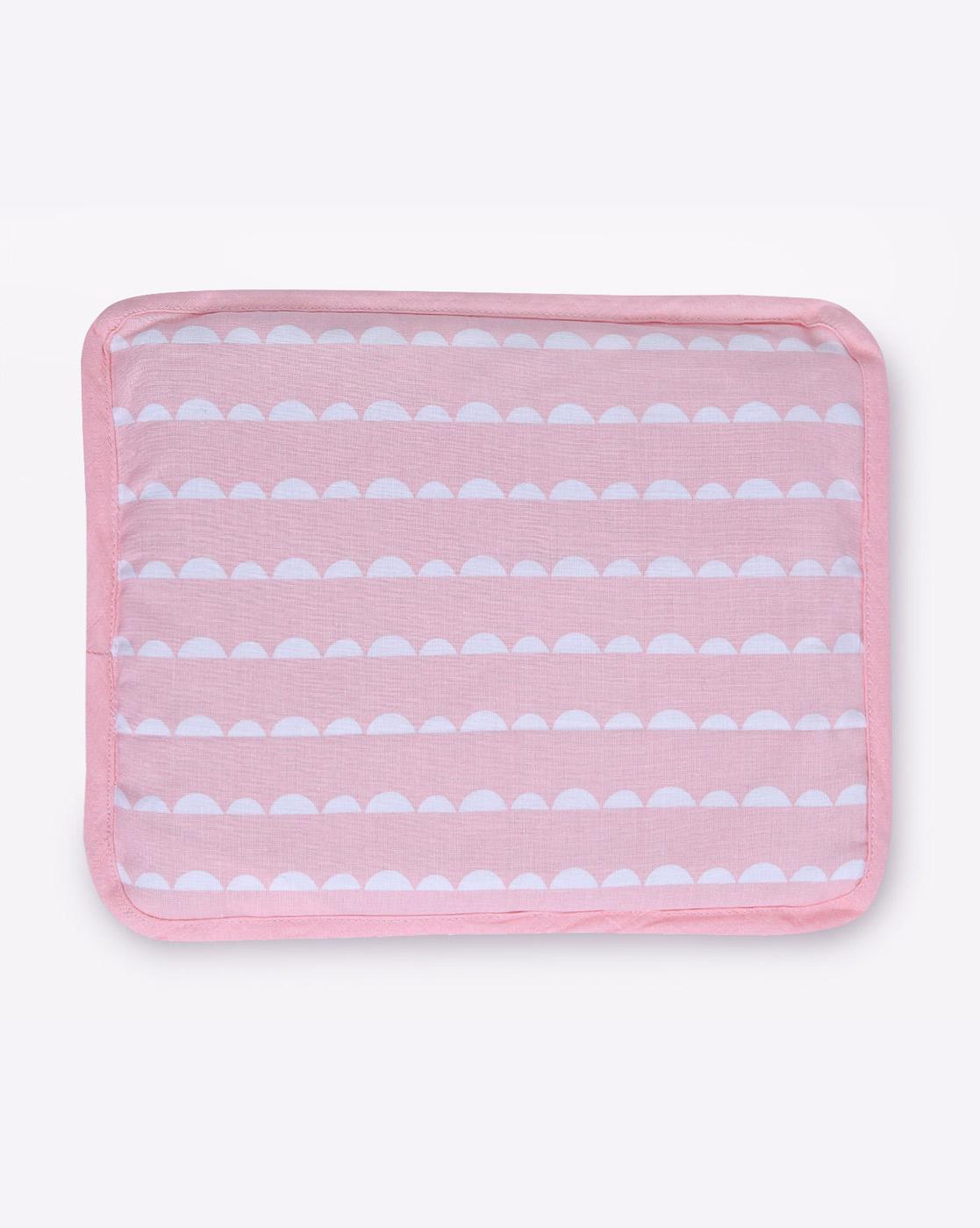 Mothercare   Mila Baby Pink Wave Rai Pillow
