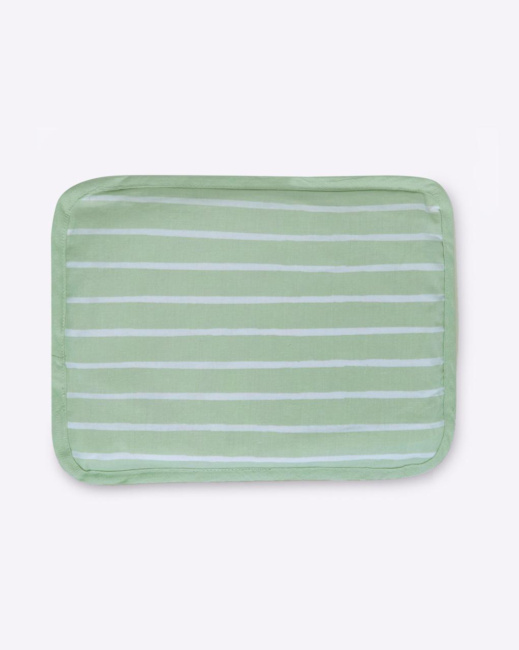 Mothercare | Mila Baby Green Stripe Rai Pillow
