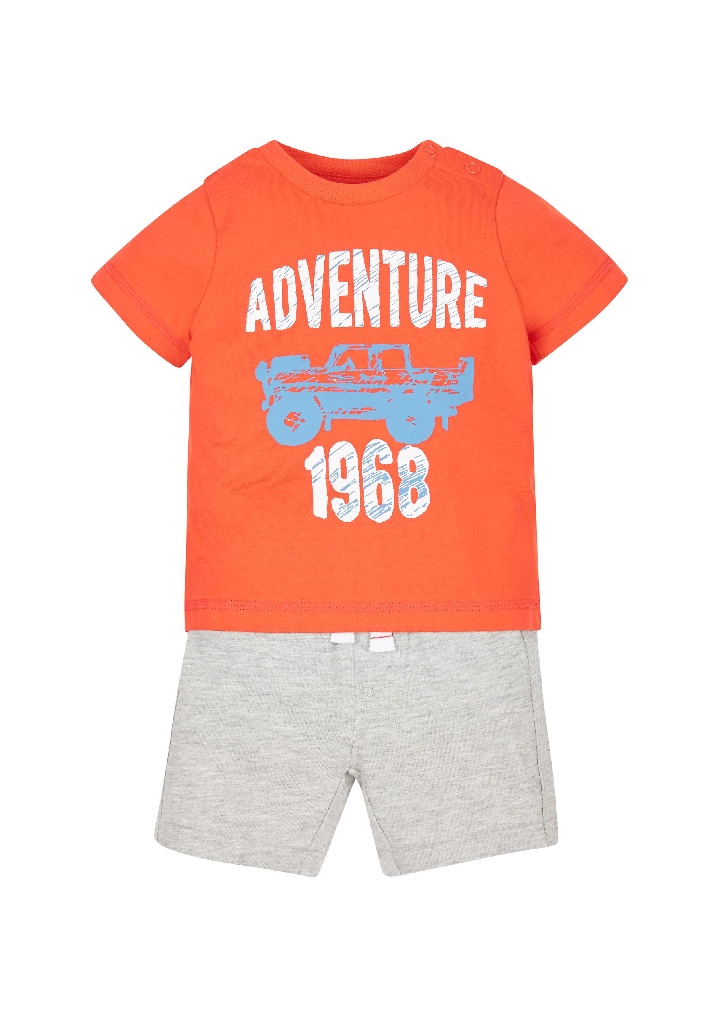 Mothercare | Boys Adventure T-Shirt And Shorts Set