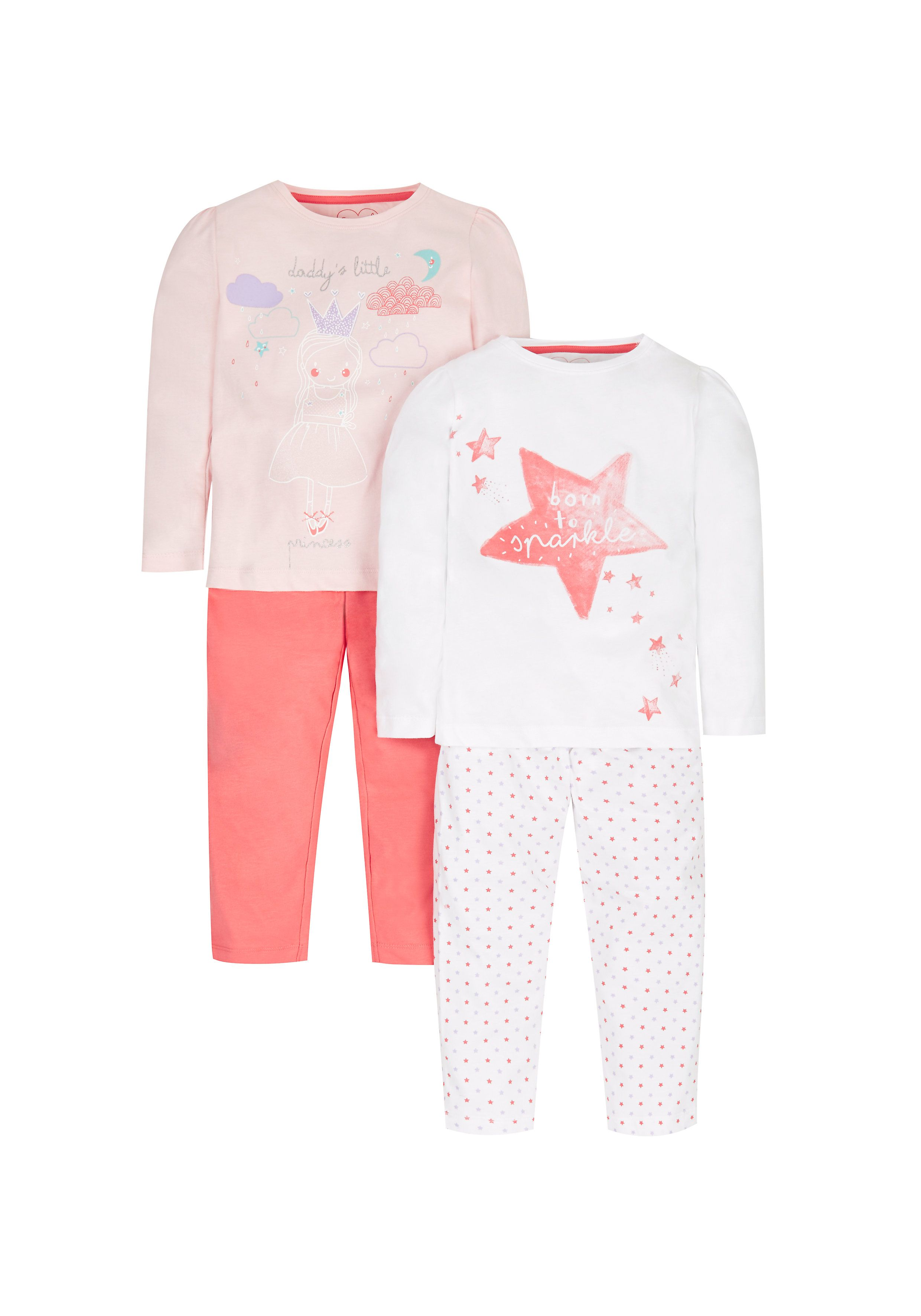 Mothercare | Princess Pyjamas - 2 Pack