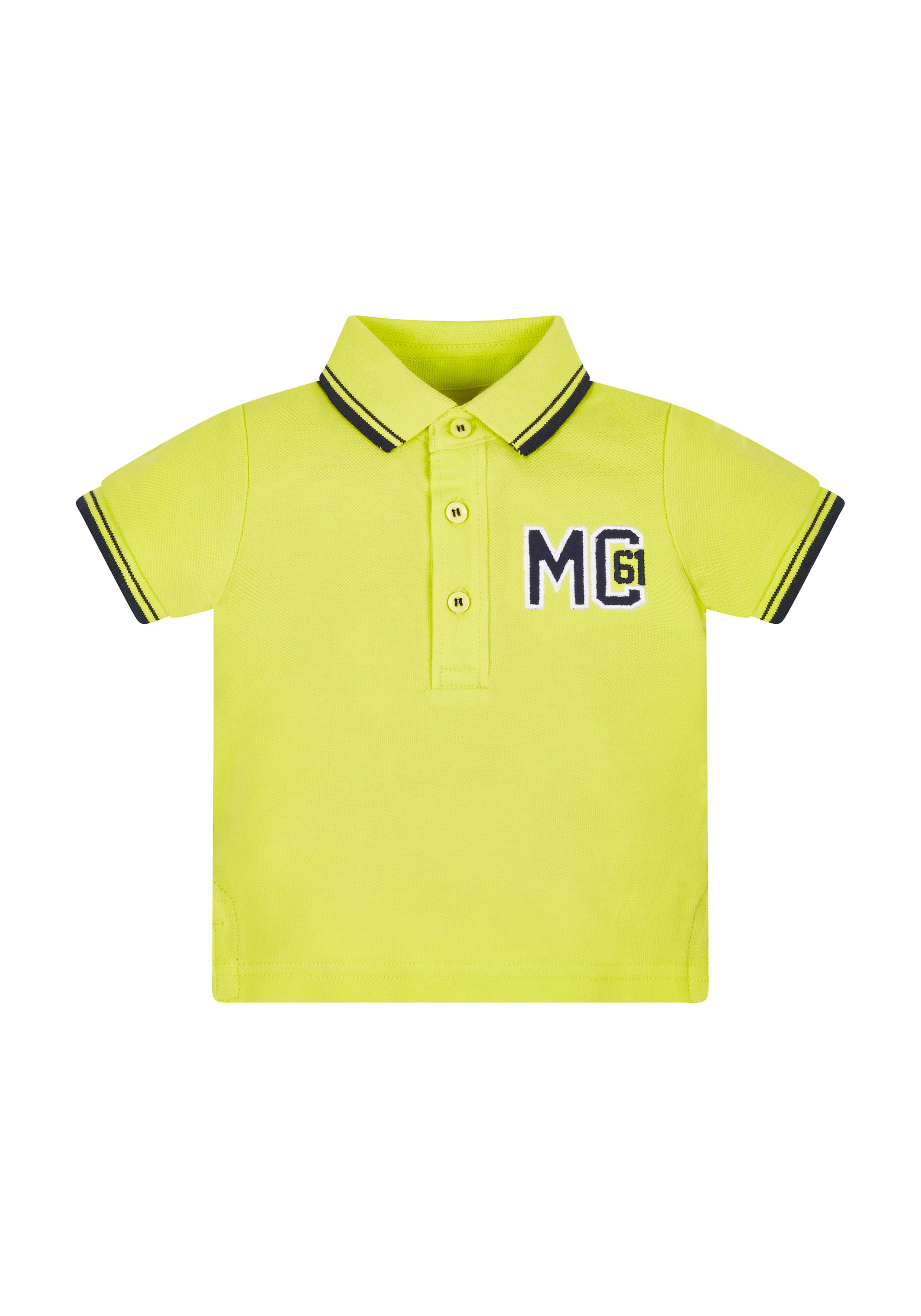 Mothercare | Boys Half Sleeves Polo T-Shirt Embroidered - Green