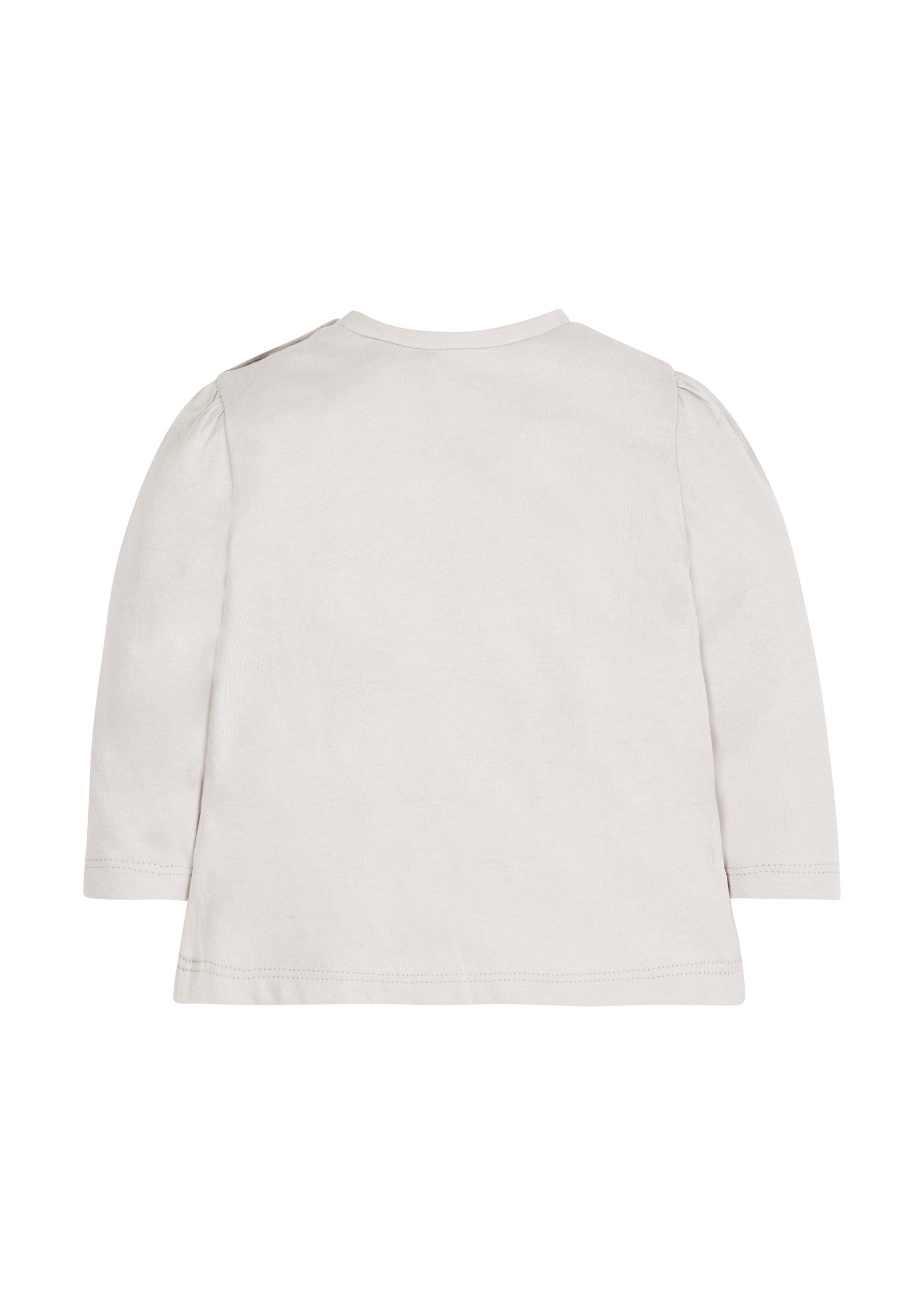 Mothercare | Girls Little Deer T-Shirt - Grey